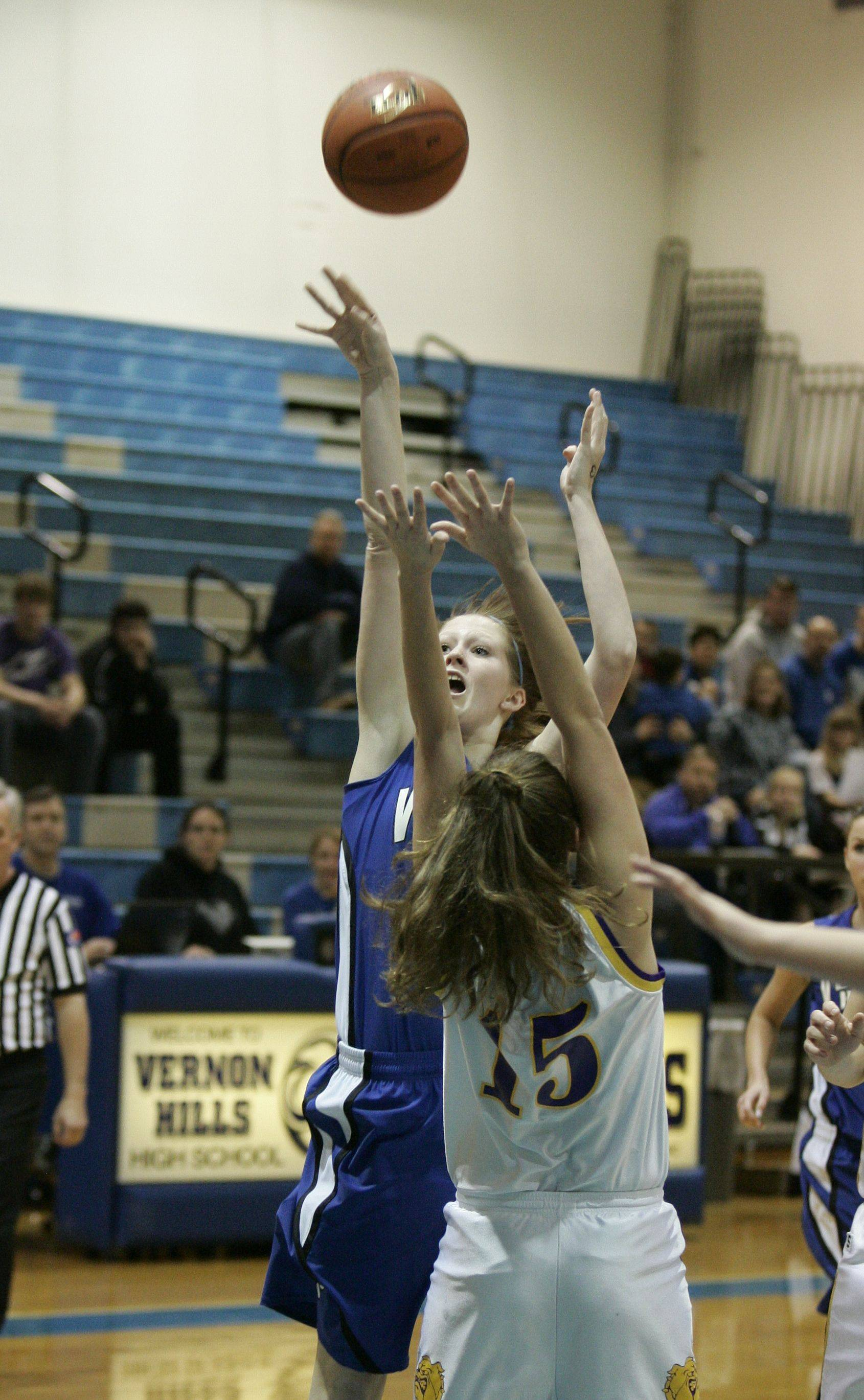 Images from the Wauconda at Vernon Hills girls basketball game Thursday, February 17.