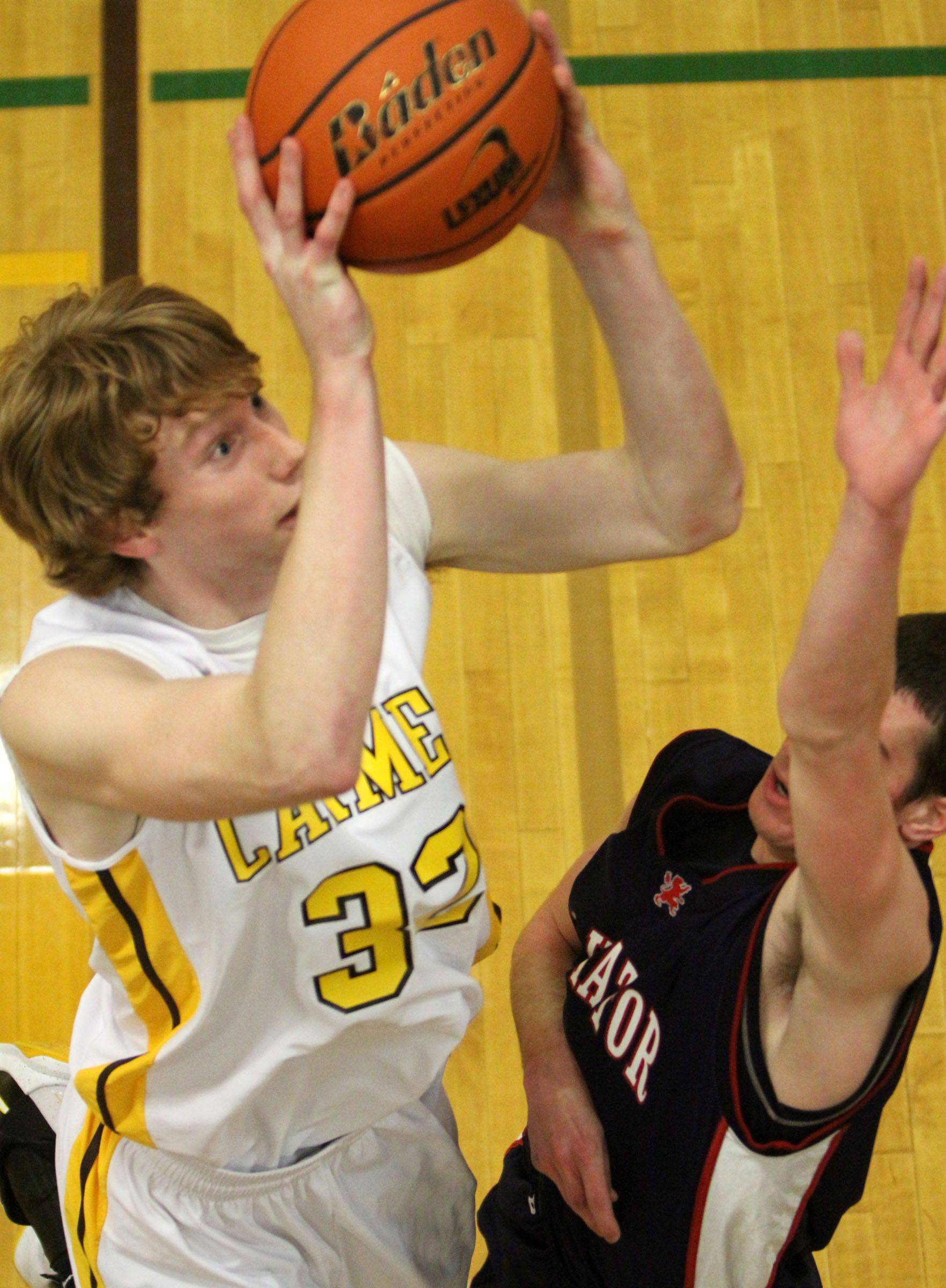 Images: St. Viator at Carmel boys basketball