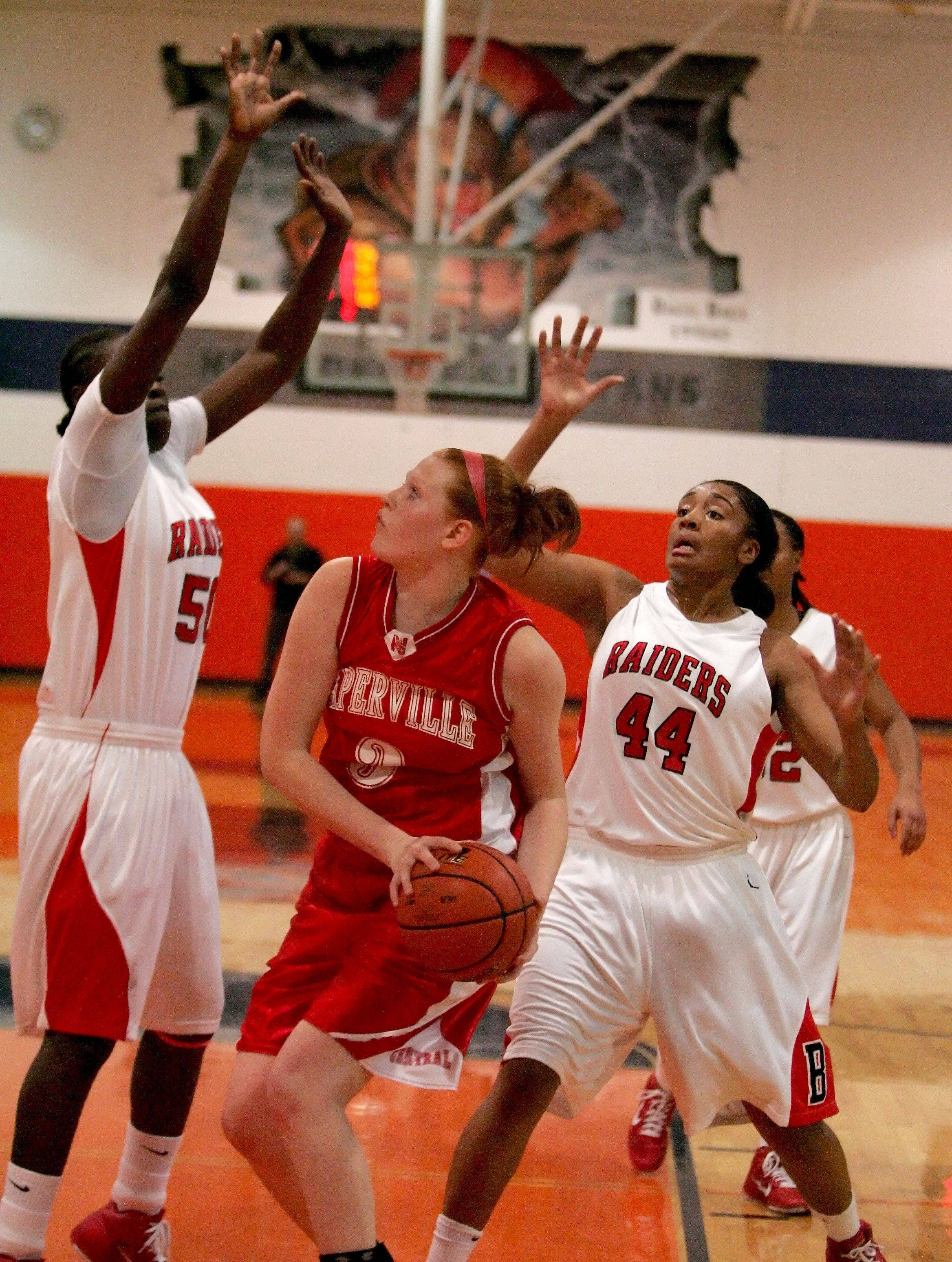 Images: Naperville Central vs. Bolingbrook girls basketball