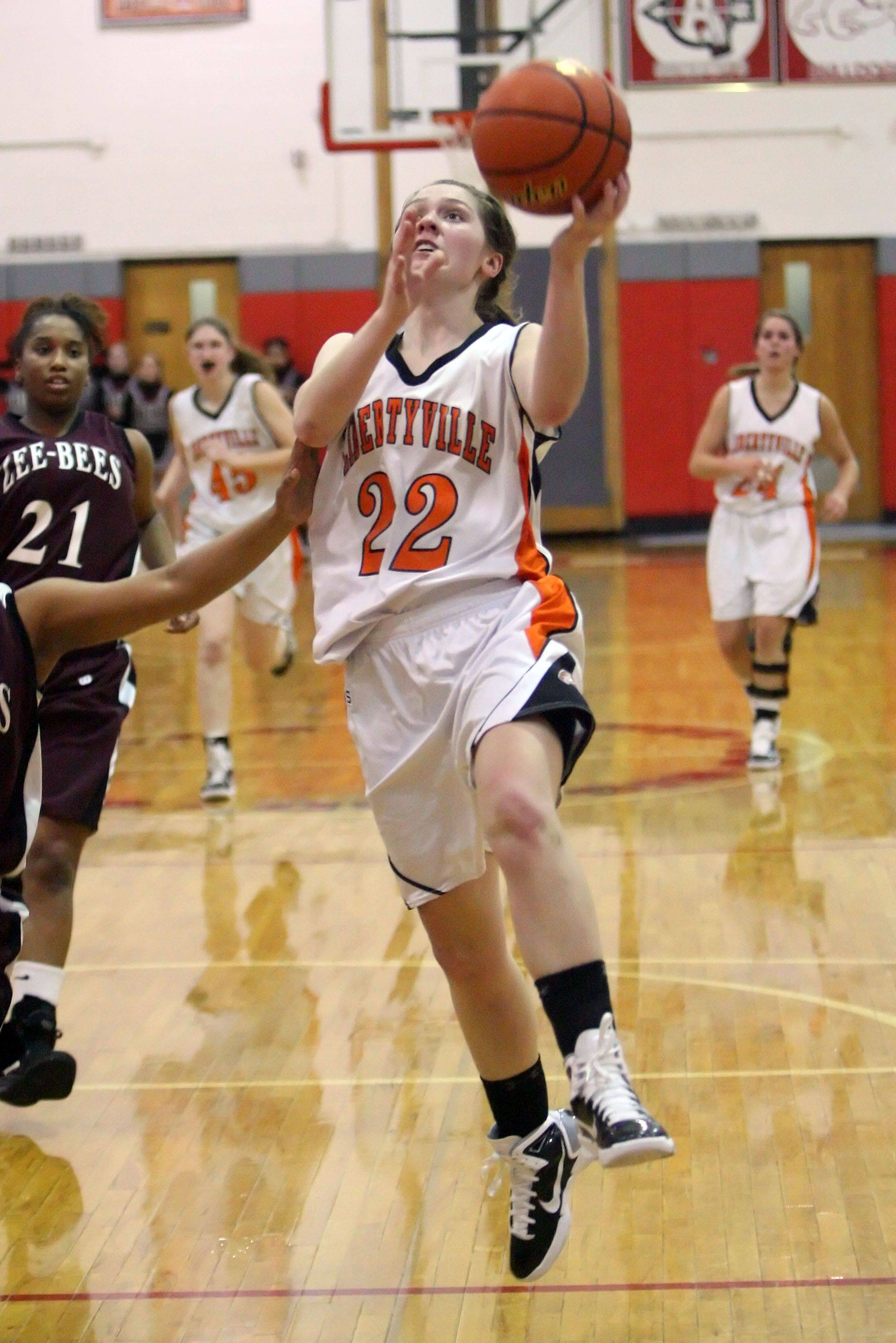 Images from the Libertyville vs, Zion-Benton girls basketball game Monday, February 21 in Mundelein.
