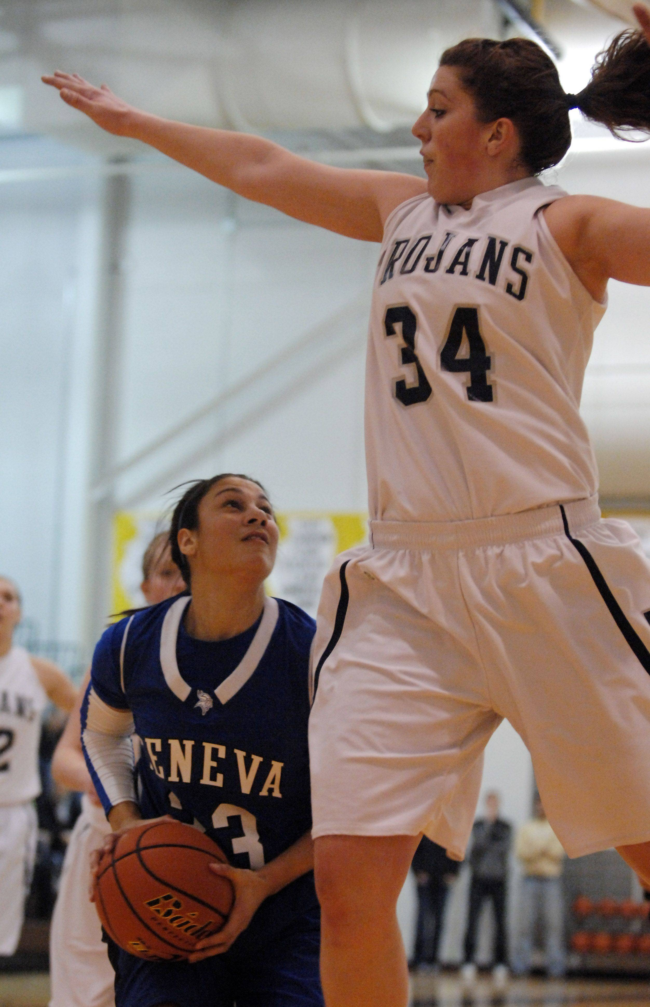 Images from the Cary-Grove vs. Geneva 4A girls sectional title game Thursday, February 24, 2011.