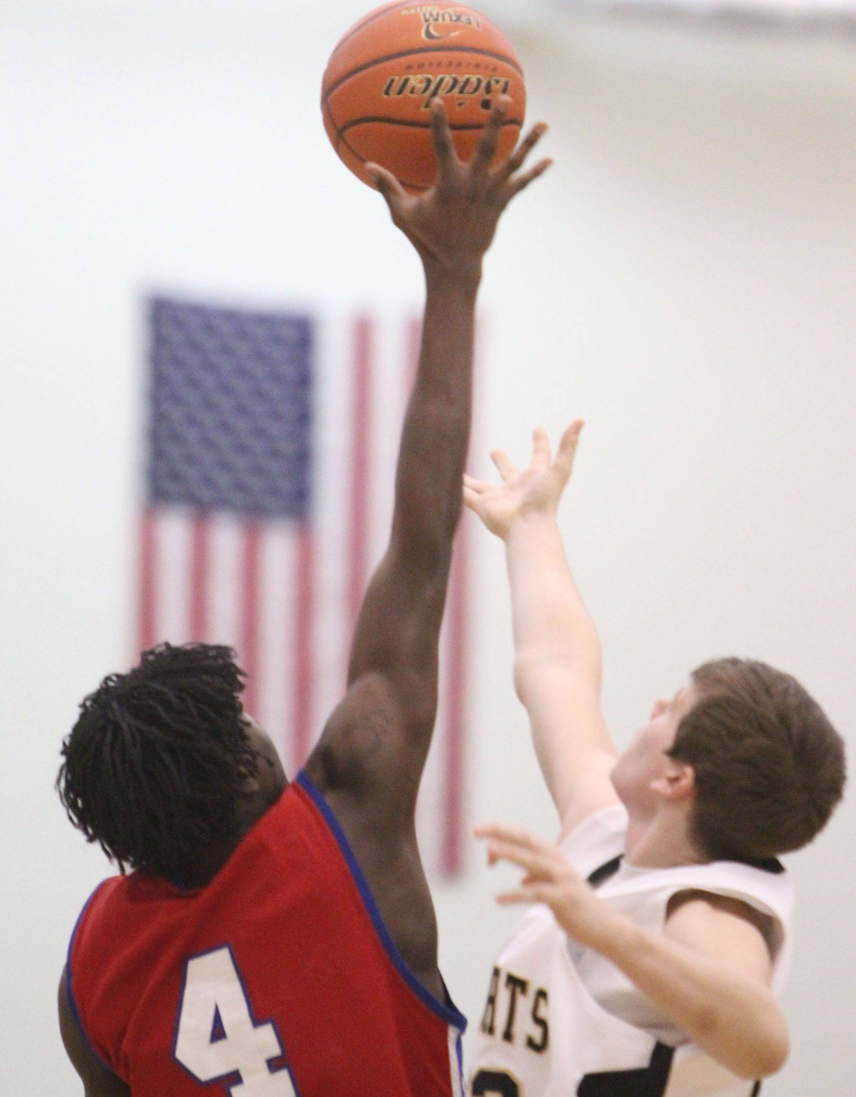 Images from the Dundee-Crown at Grayslake North boys basketball game Friday, February 25.