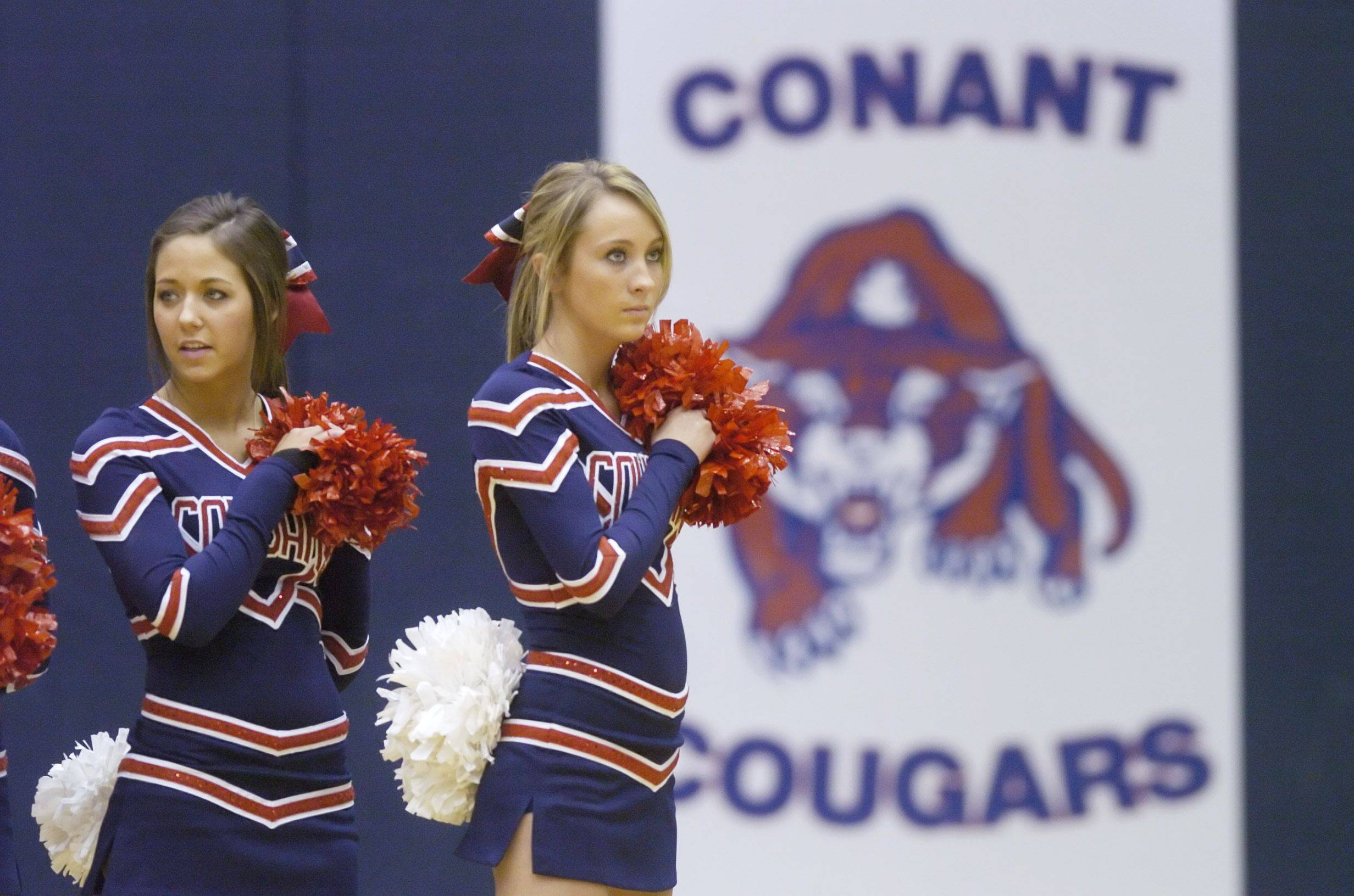 Images from the Conant vs. St. Patrick boys regional basketball game in Hoffman Estates on Wednesday, March 2nd.