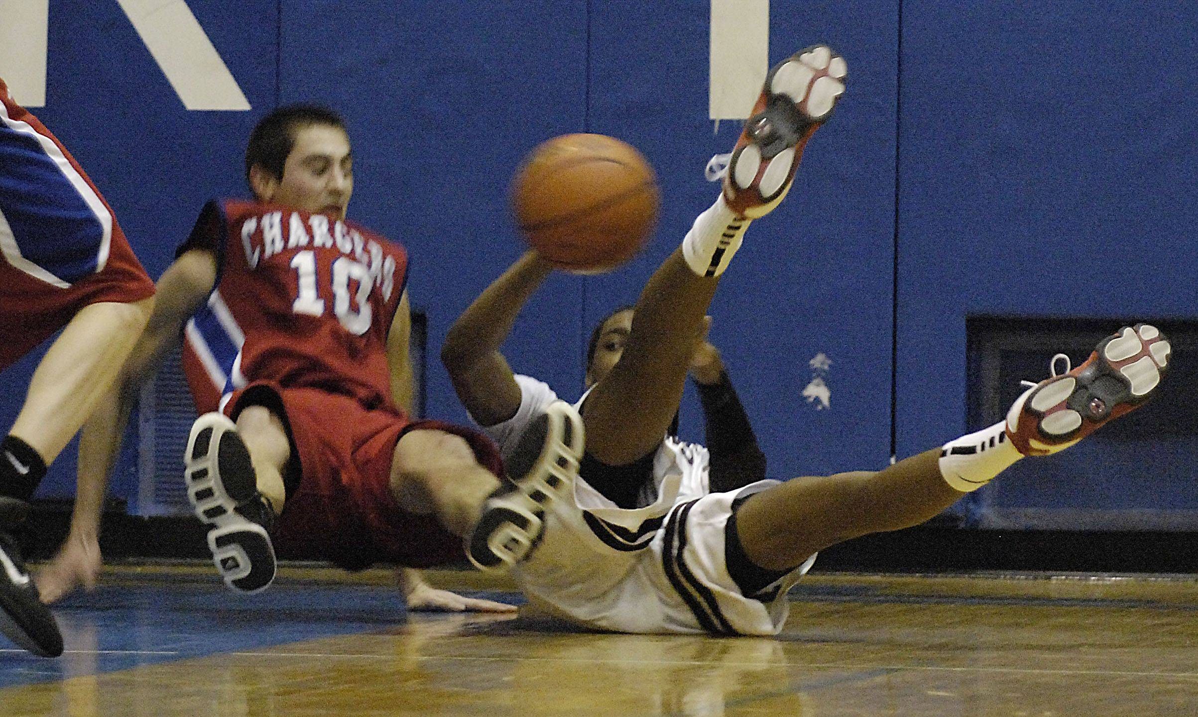 Images from the Elgin vs. Dundee-Crown boys basketball game Friday, March 4, 2011.