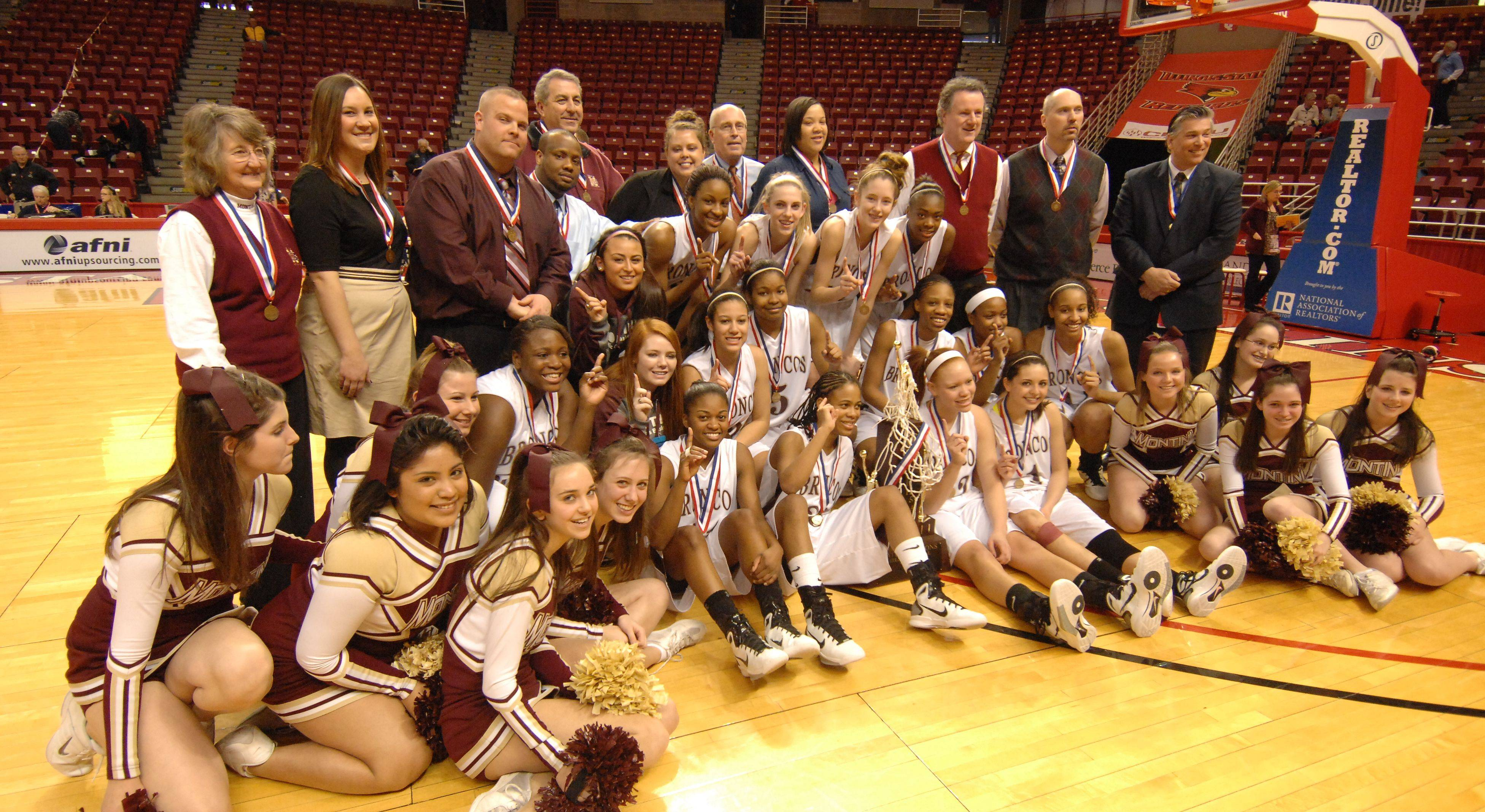 Images from the Montini vs. Hillcrest girls state Class 3A basketball game in Normal on Saturday, March 5th