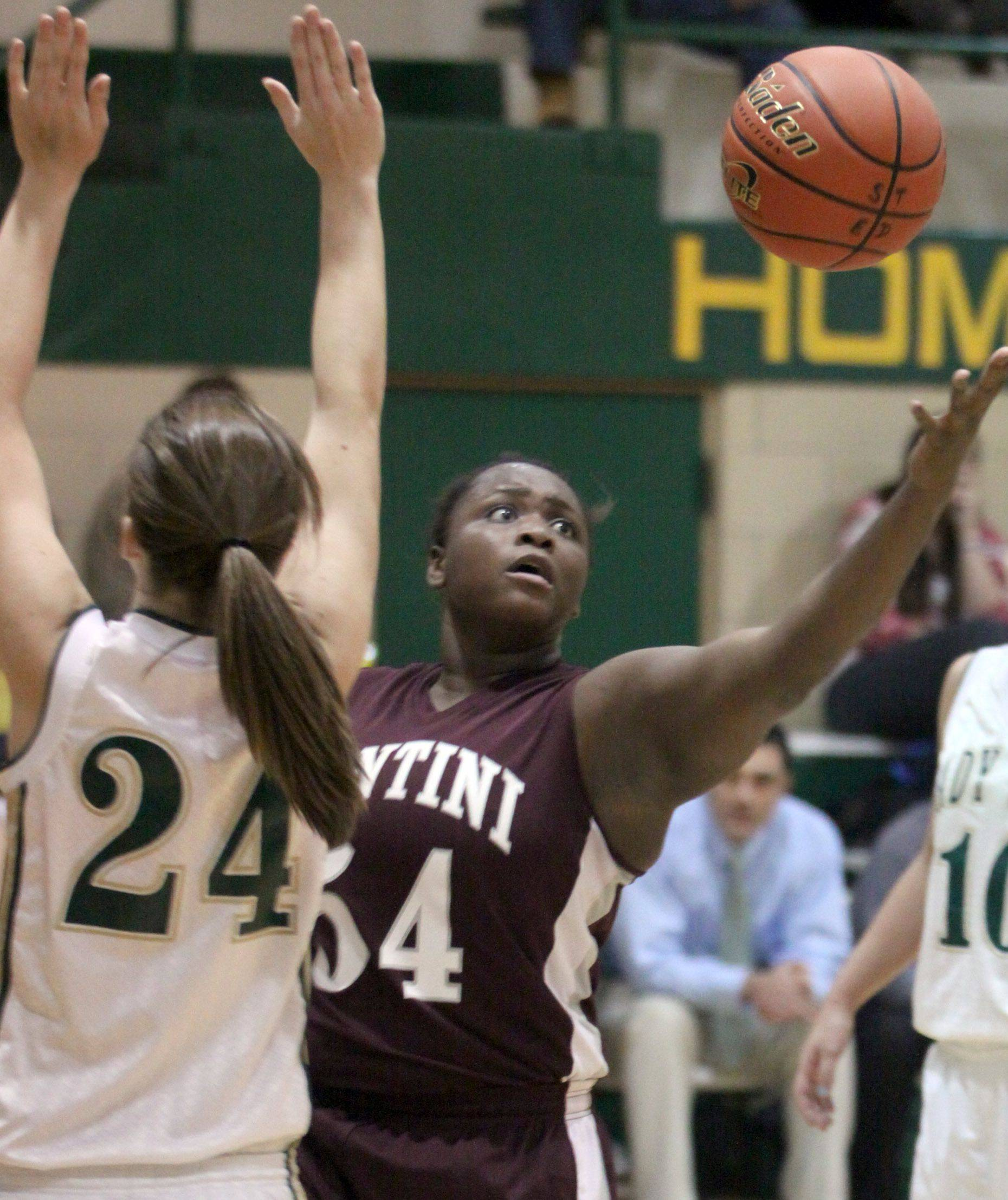 Images from the Montini vs. St. Edward girls basketball game Tuesday, November 29, 2011.