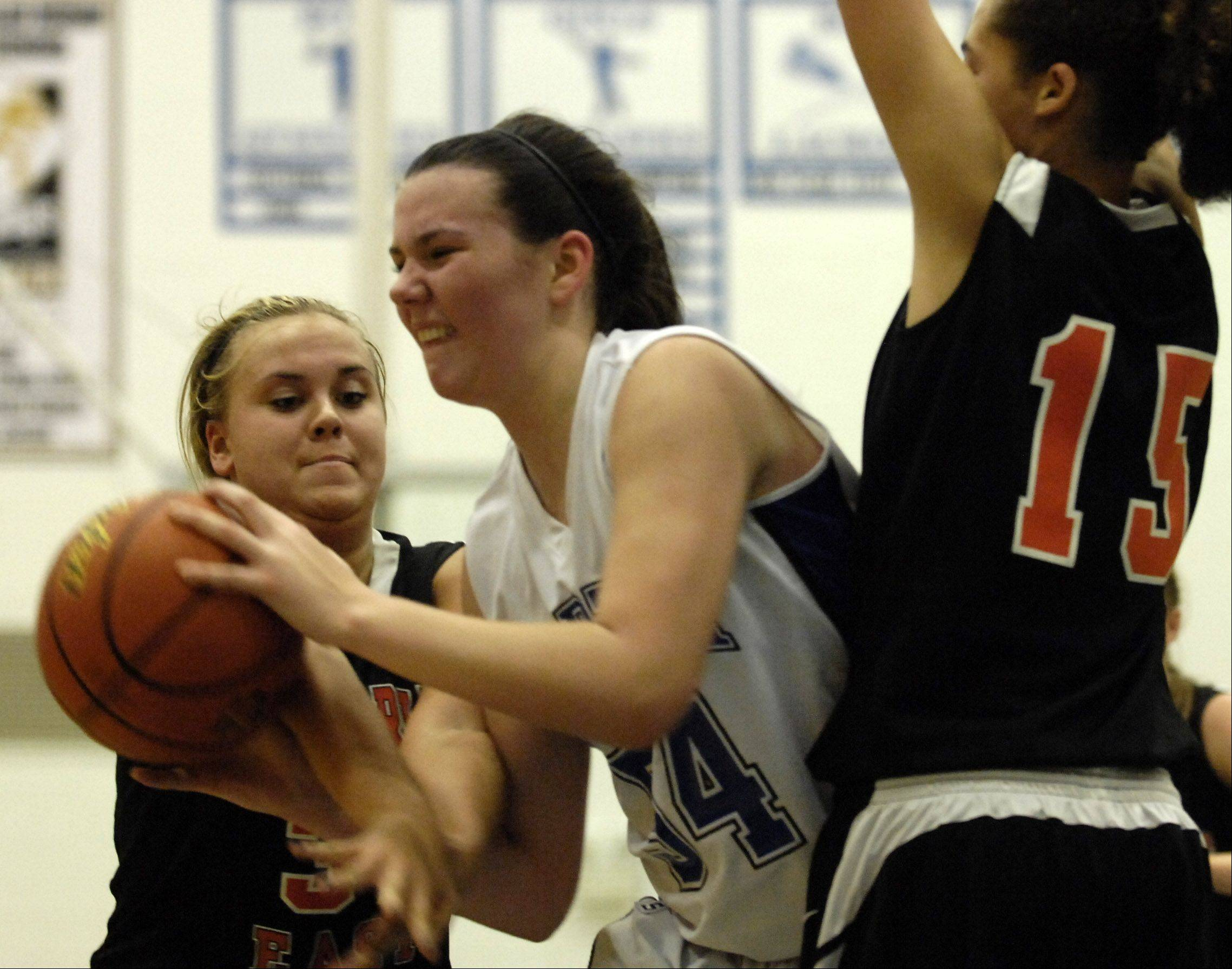 Images: St. Charles East vs. St. Charles North girls basketball