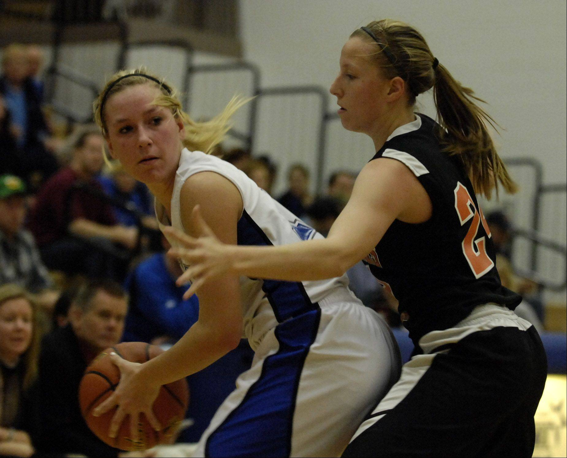 Images from the St. Charles East vs. St. Charles North girls basketball game Wednesday, December 14, 2011.