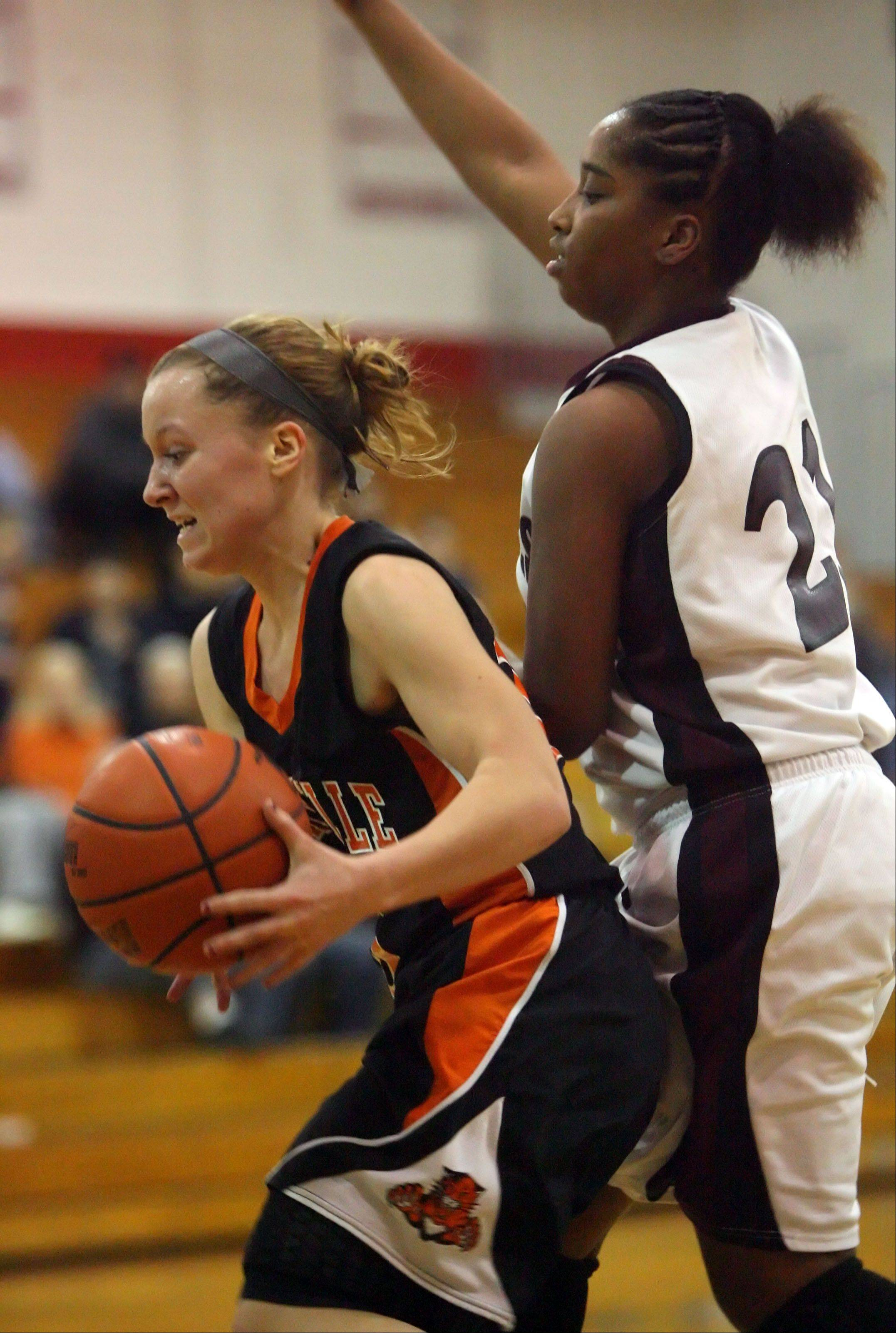 Images from the Zion-Benton vs. Libertyville girls basketball game Wednesday, Dec. 21 in Mundelein.