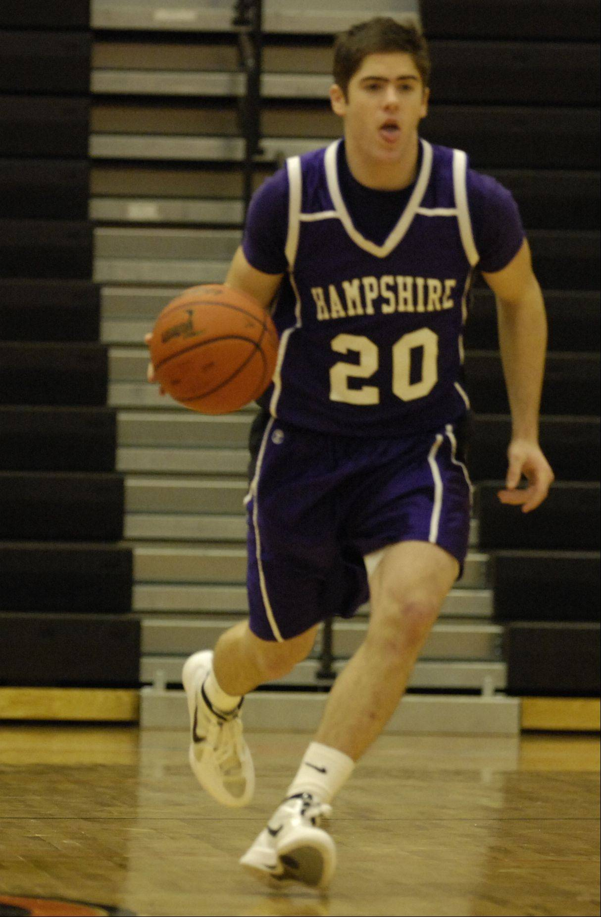 Images from the Hampshire vs. Sterling boys basketball game Wednesday, December 28, 2011.