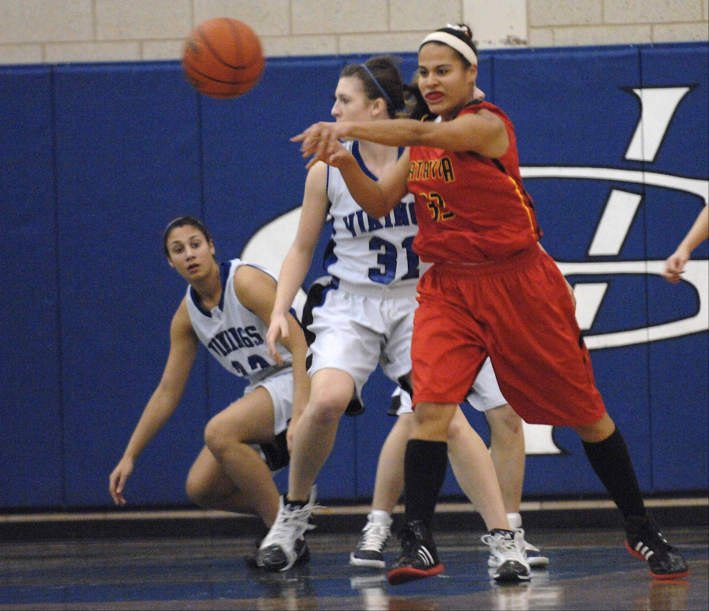 Images from the Batavia at Geneva girls basketball game on Wednesday, January 4, 2012.