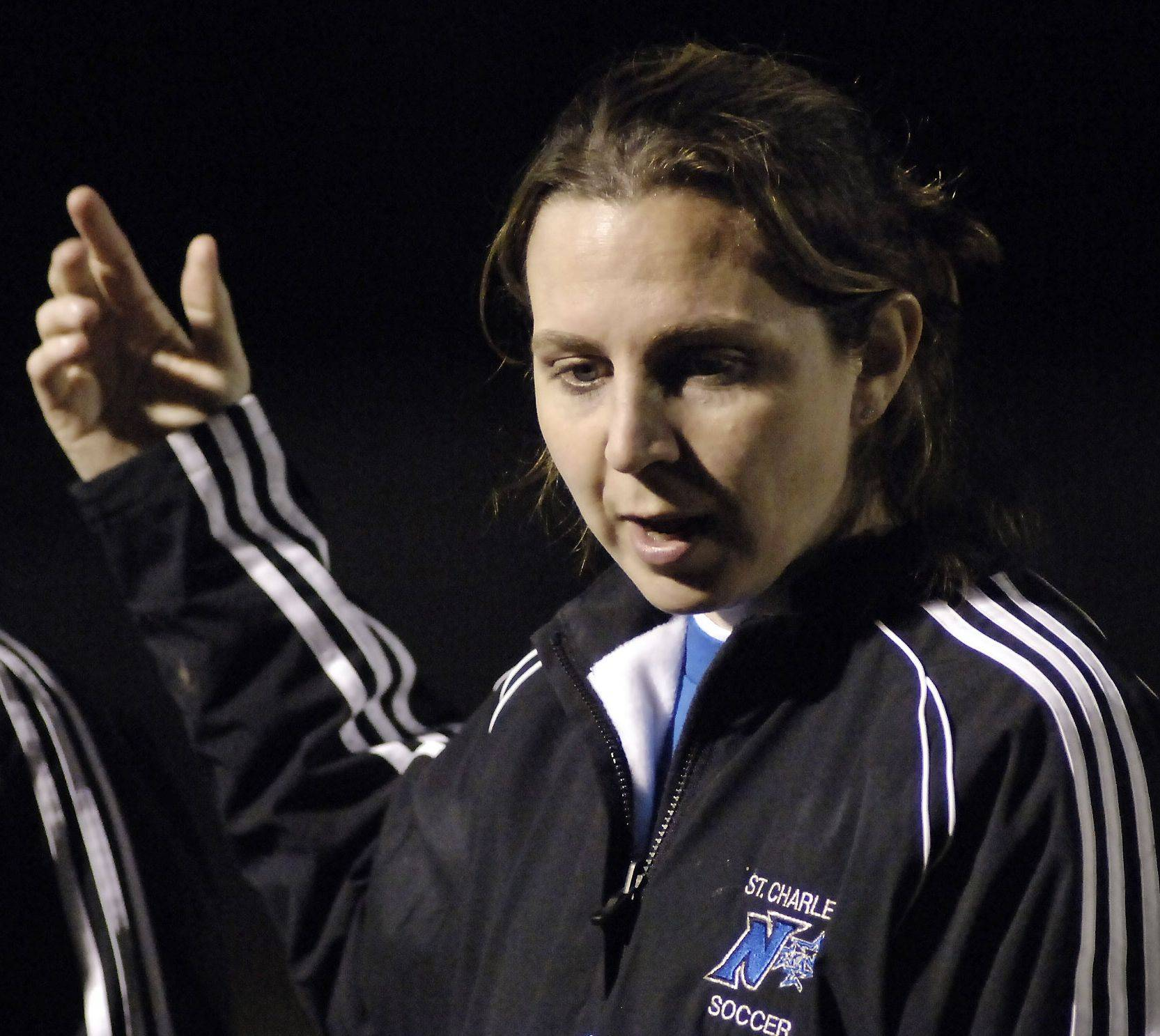 Ruth Vostal, St. Charles North's girls soccer coach, is one of four going into the St. Charles East Hall of Fame with the Jodie Harrison Lifetime Achievement award.