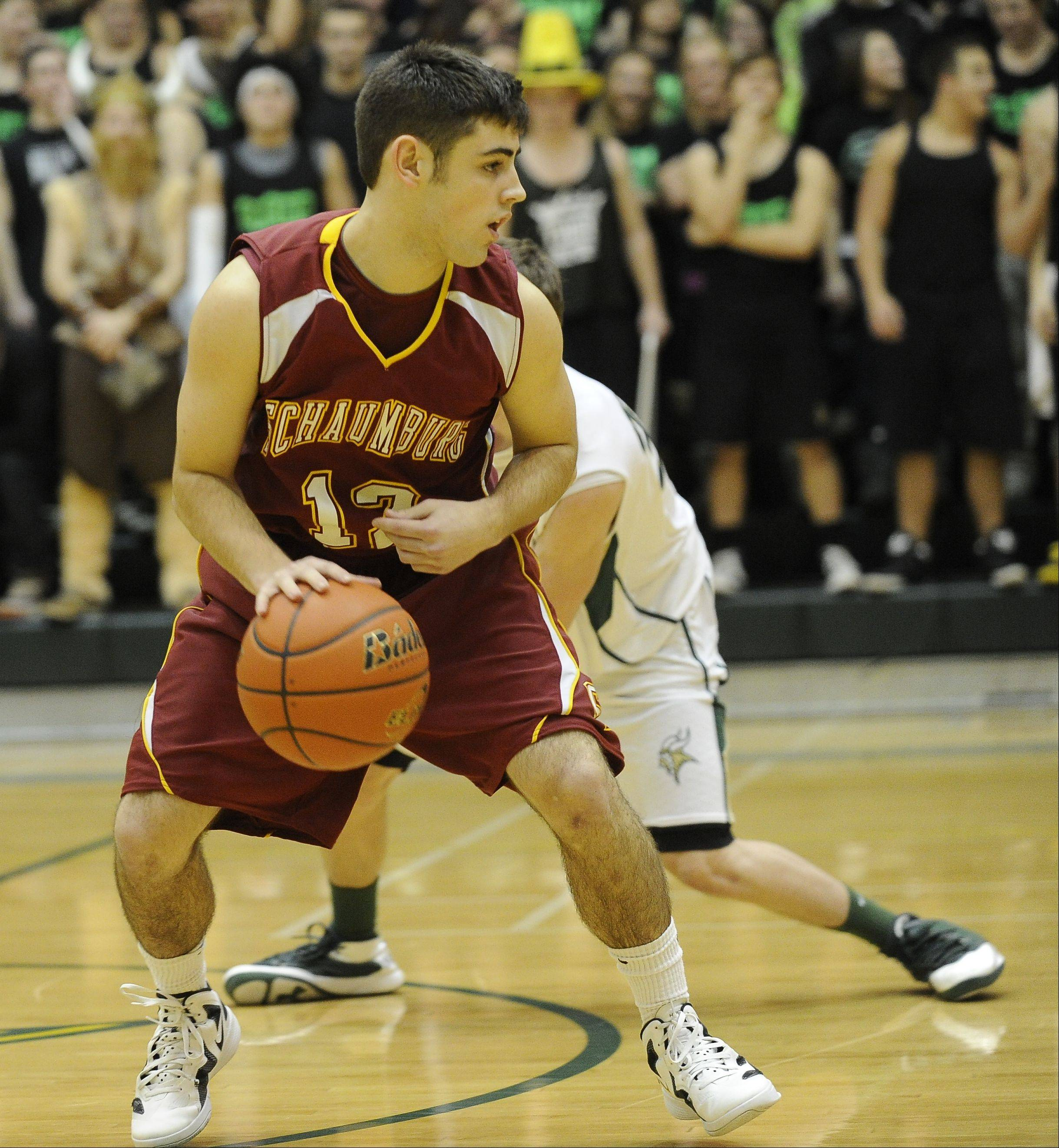 Images from the Schaumburg vs. Fremd boys basketball game in Palatine on Friday, February 4th.