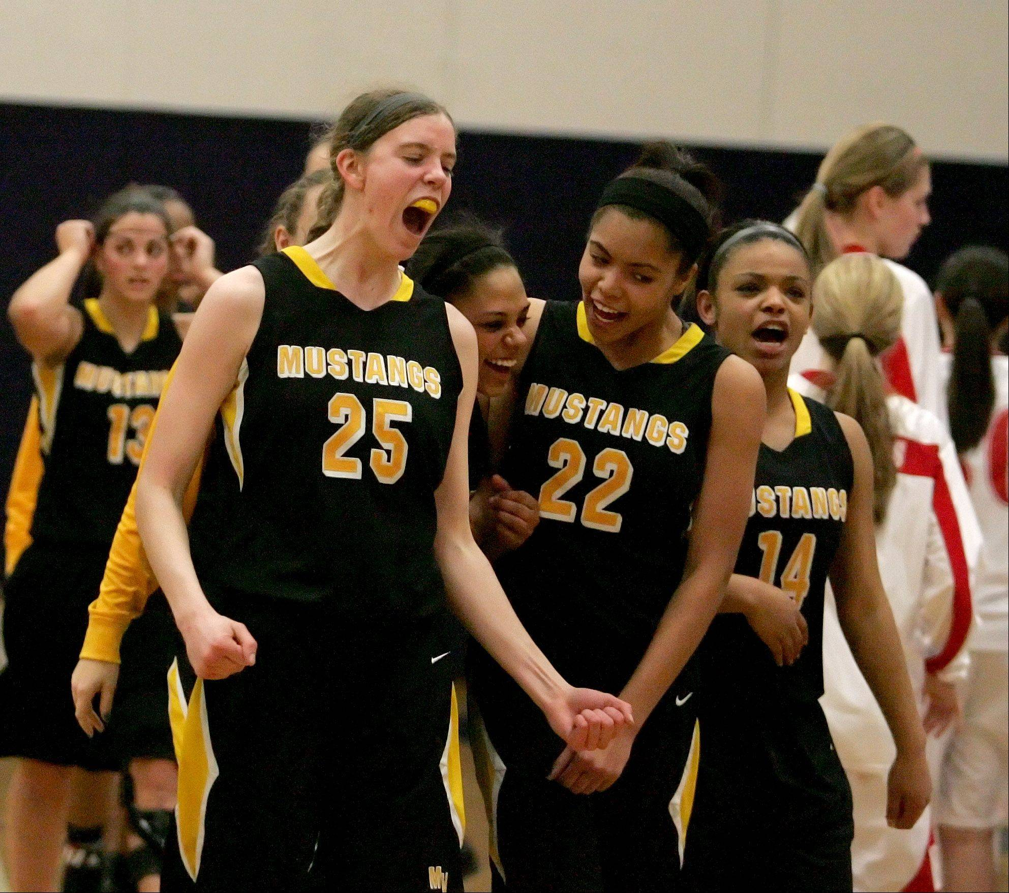 Images: Naperville Central vs. Metea Valley girls basketball regional at Oswego