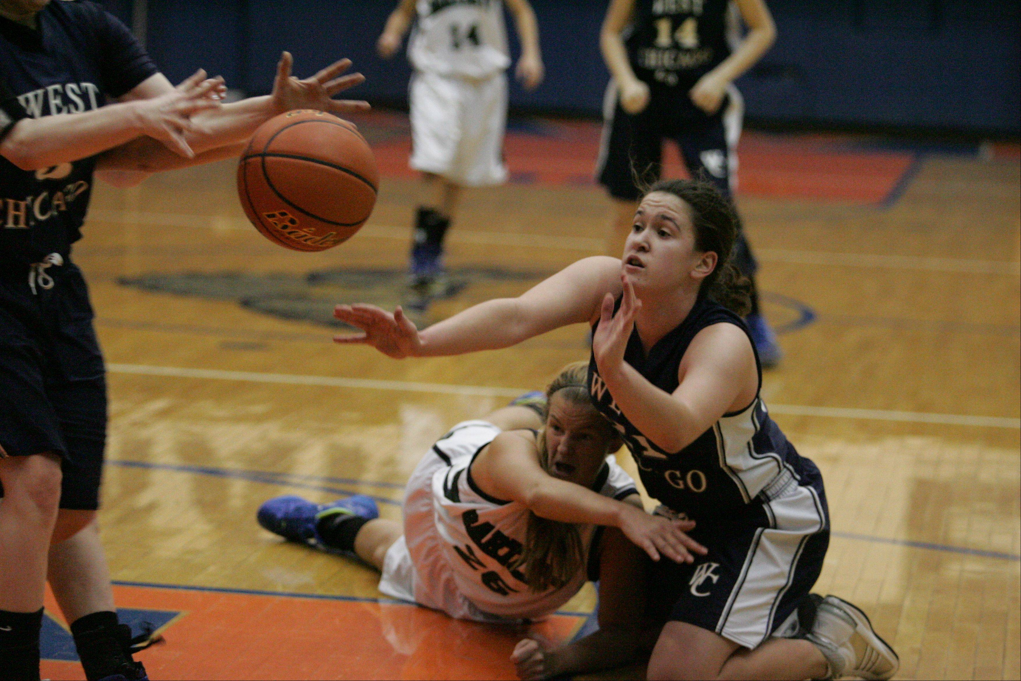 Images: Bartlett vs. West Chicago girls basketball