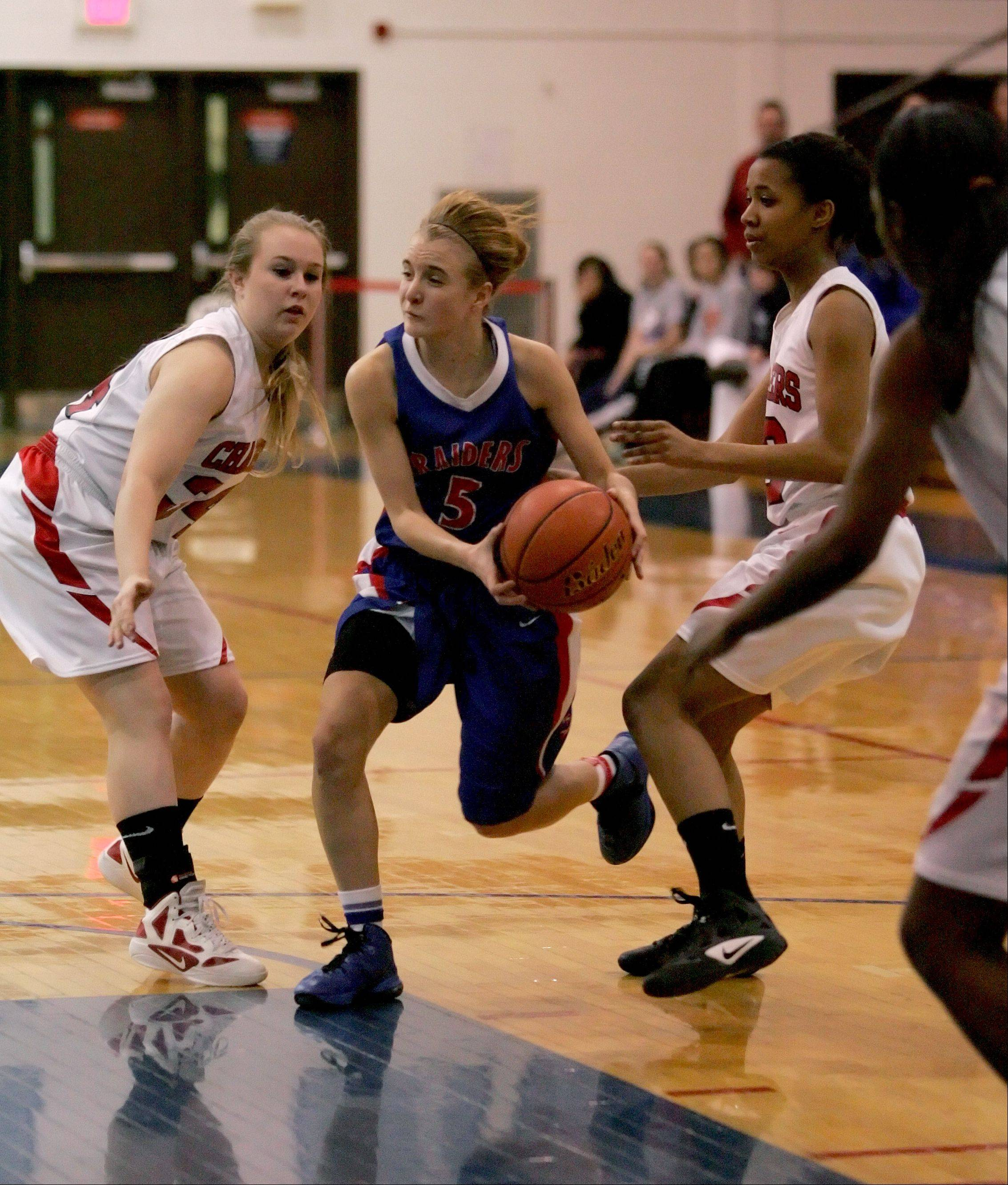 Images: Glenbard South vs. St. Joseph girls basketball