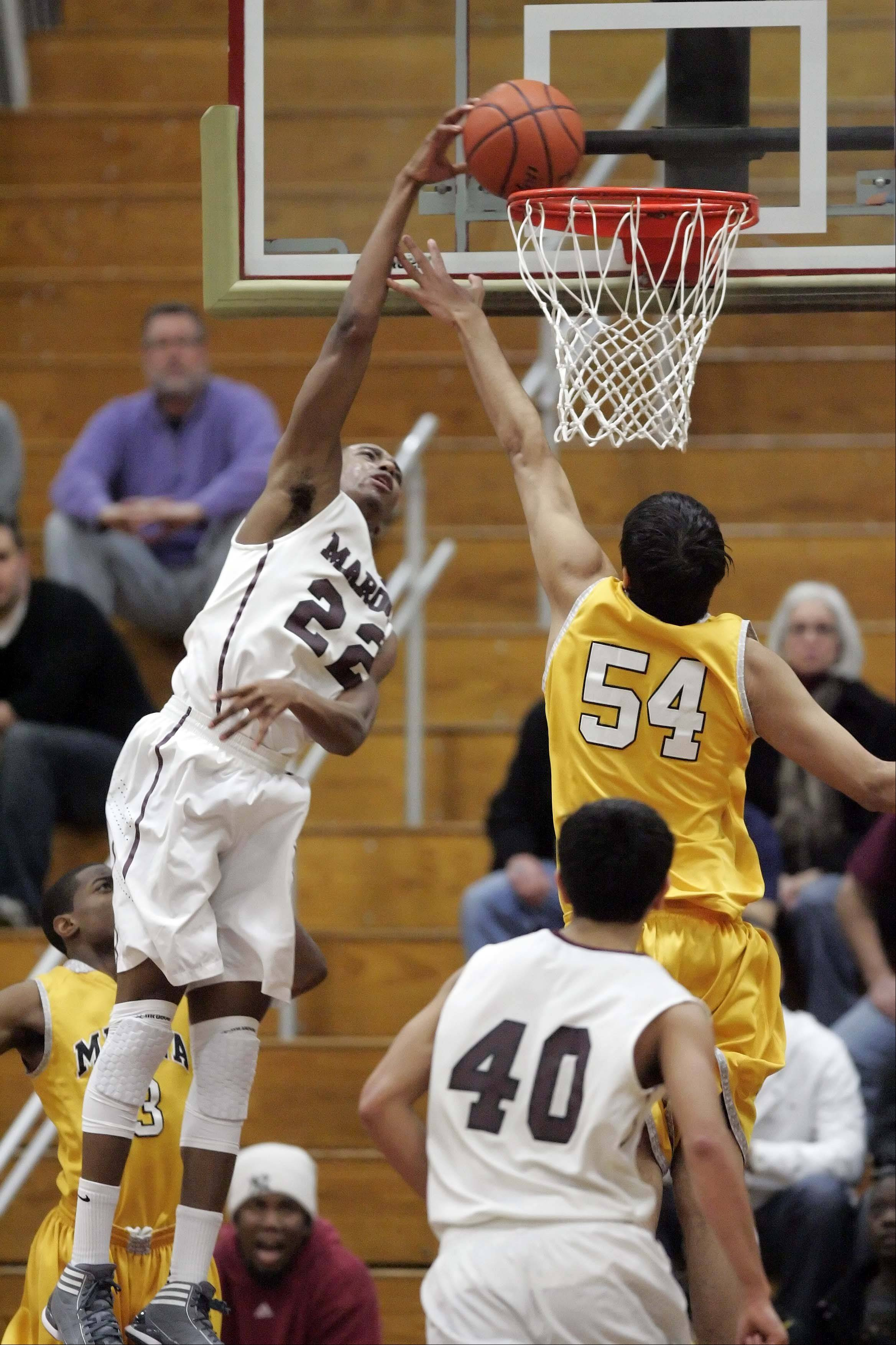 Brown, Elgin slam Metea Valley