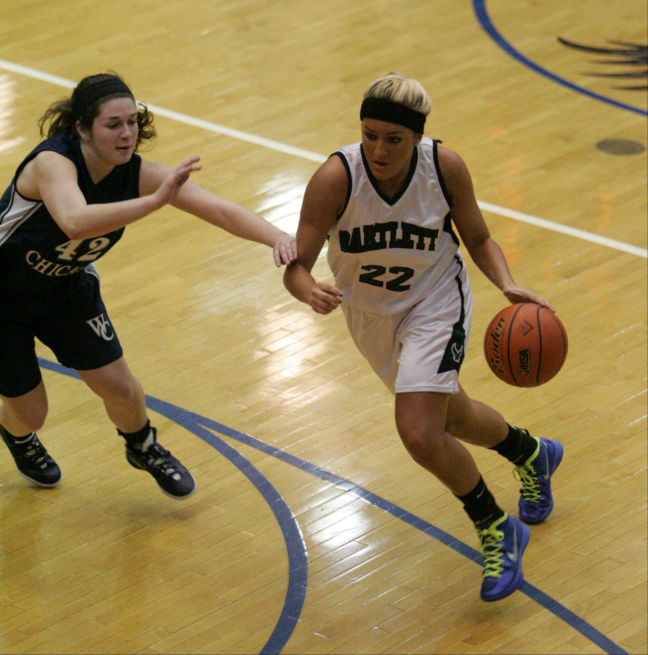 Bartlett and senior Haley Videckis (22) will take on DeKalb at 8 p.m. Monday in the Class 4A Elgin supersectional.