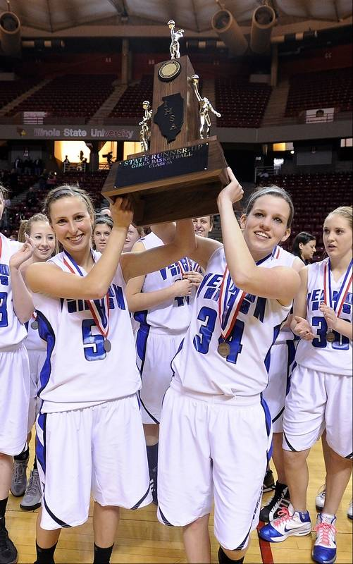 Images from the Vernon Hills vs. Montini Class 3A state girls basketball  championship game at