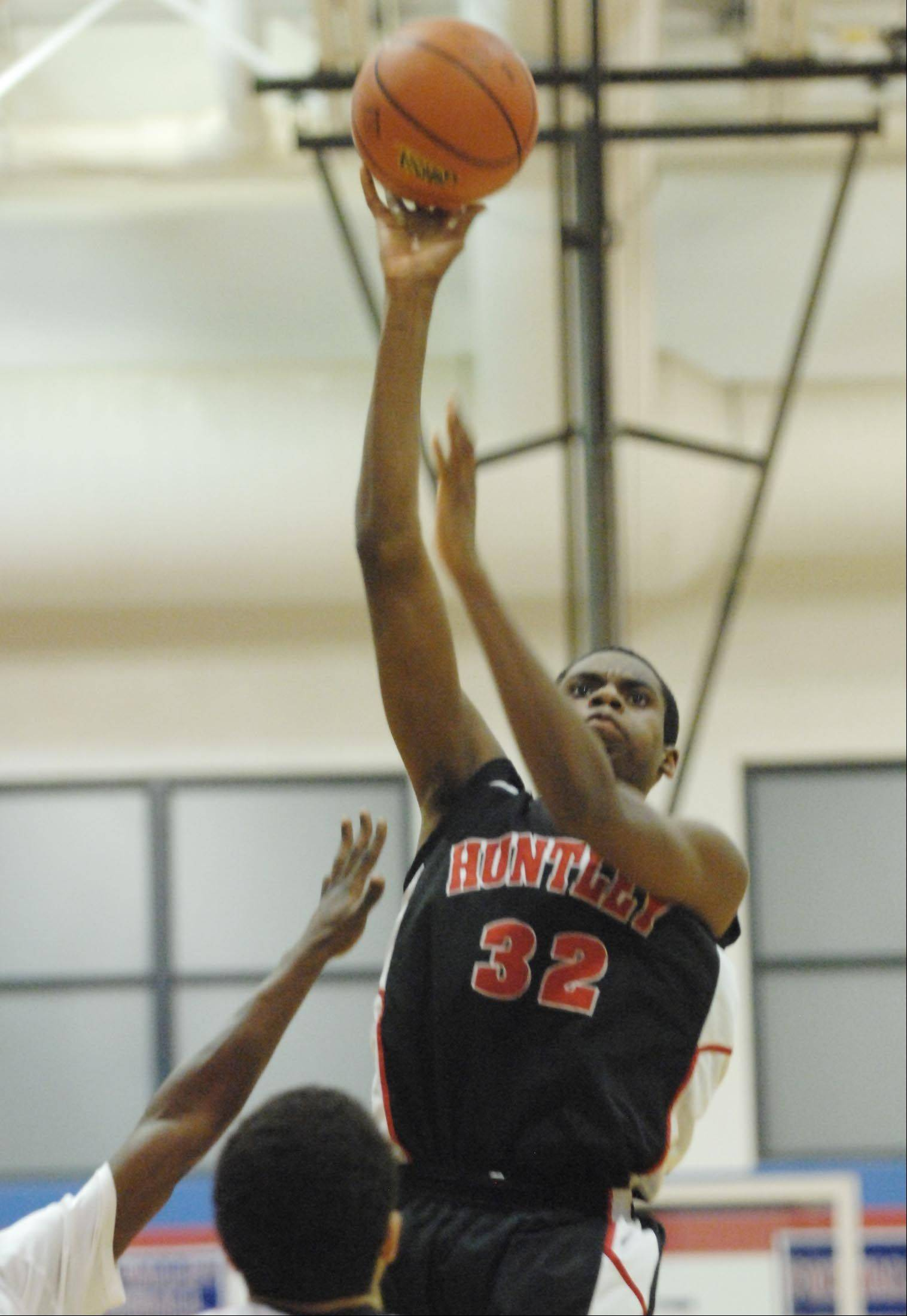 Images from the Huntley vs. Rockford Auburn boys sectional basketball game on Tuesday, Mar. 6, 2012.
