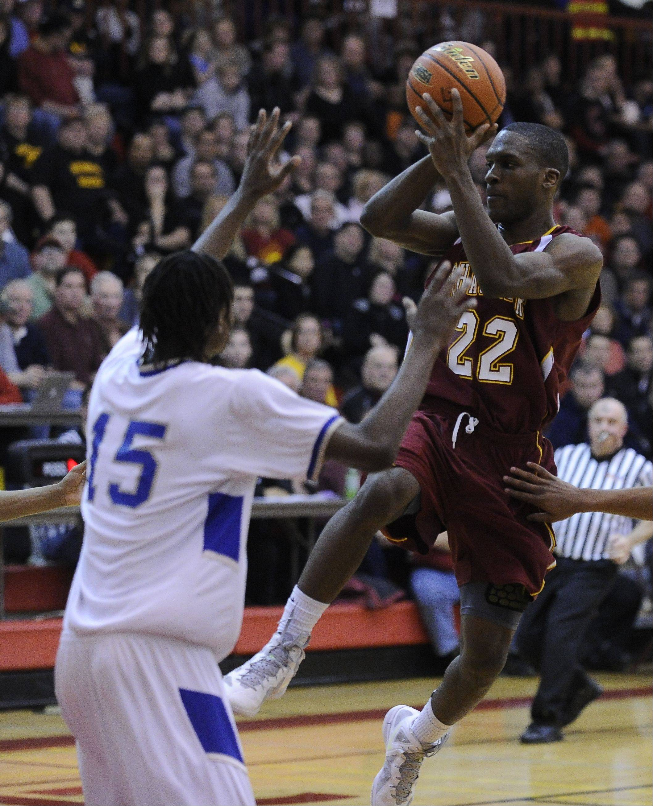 Images from the Schaumburg vs. Proviso East sectional final boys basketball game in Schaumburg on Friday, March 9th.