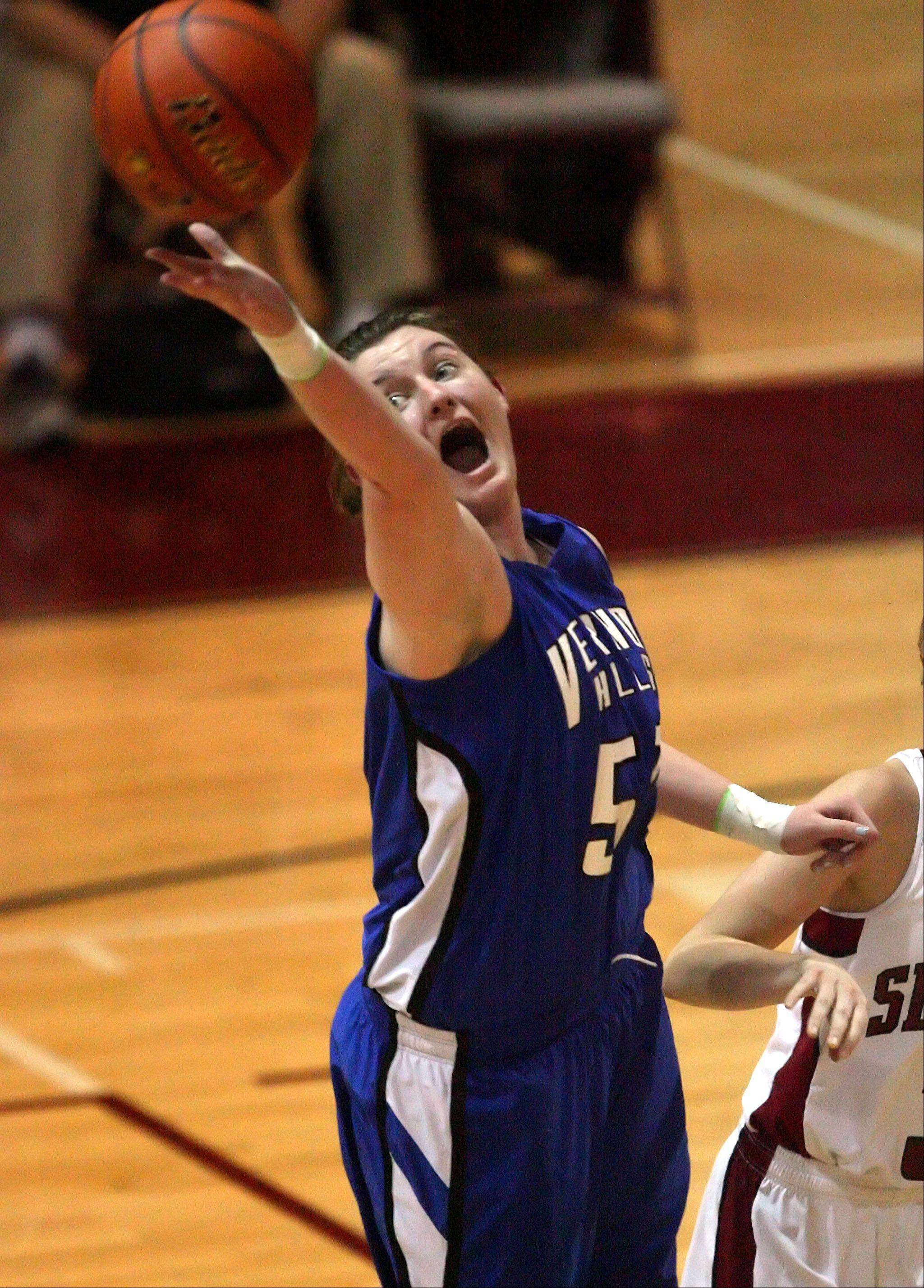 Vernon Hills' Meri Bennett-Swanson will take her considerable talents to DePaul and coach Doug Bruno after next season.