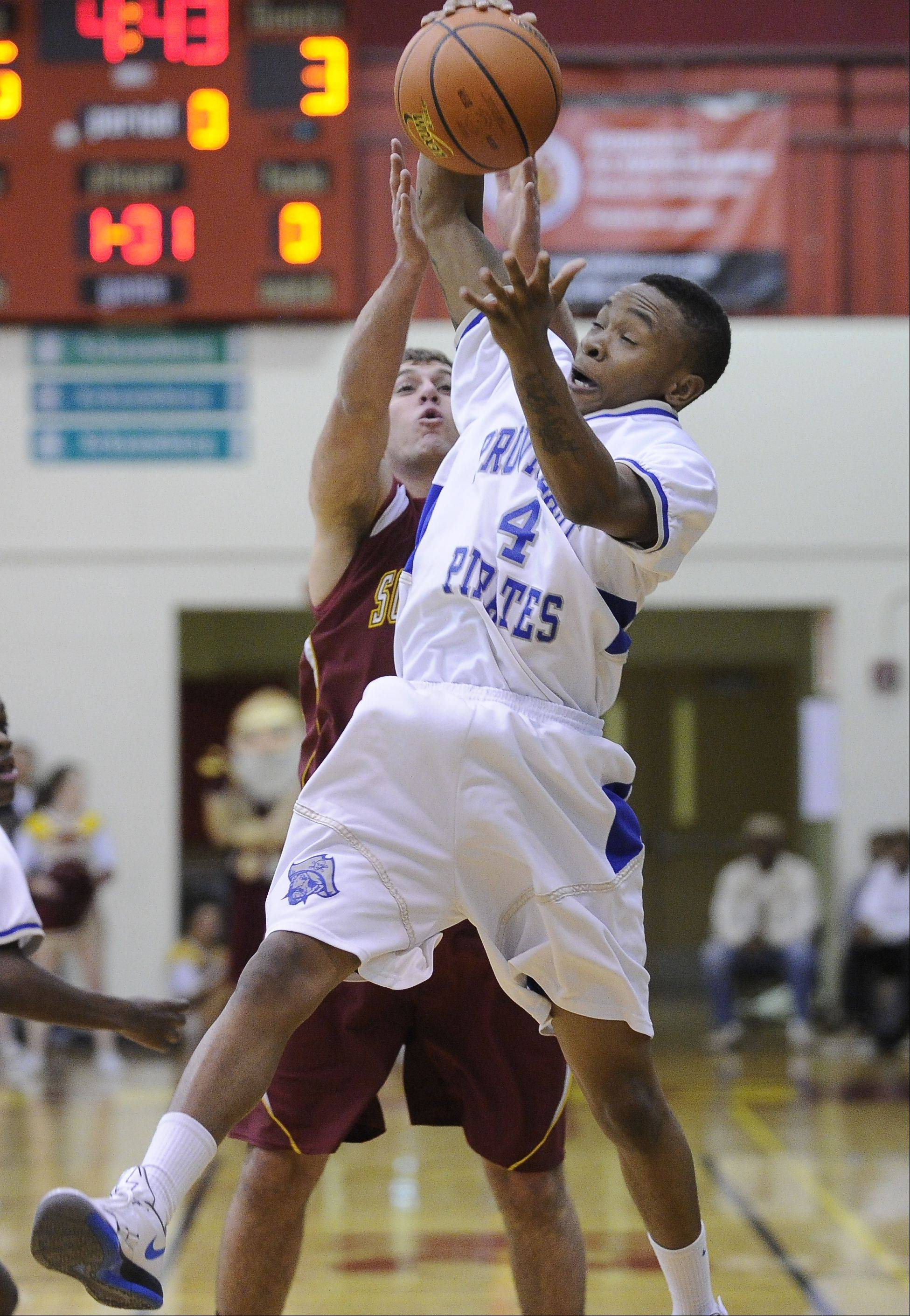 Guard Paris Burns has led unbeaten Proviso East to the Class 4A semifinals in Peoria.
