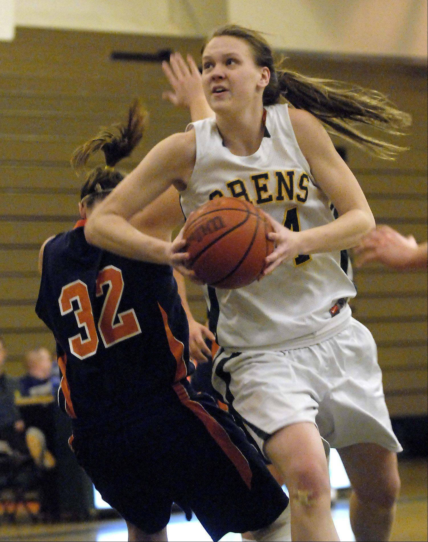 Courtney Lindfors, who played her senior season at Elk Grove High School after Driscoll closed, has decided to transfer to Loyola to continue her college basketball career. Lindfors was one of Wisconsin-Milwaukee's top players in her two seasons there.