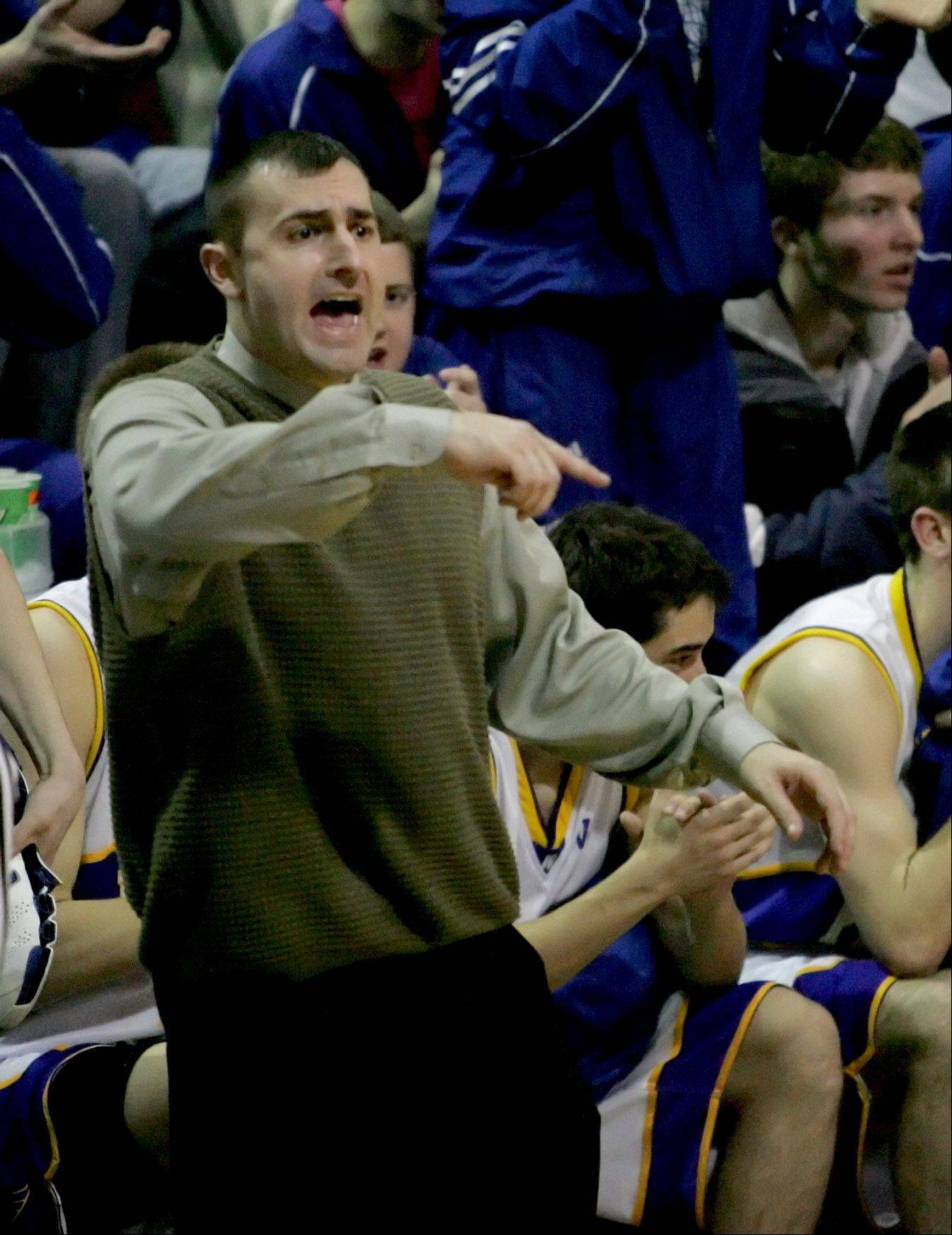 Jim Nazos has left Wheaton North to take over the boys basketball program at Batavia. Nazos replaces IBCA Hall of Famer Jim Roberts, who resigned to spend more time with his family.