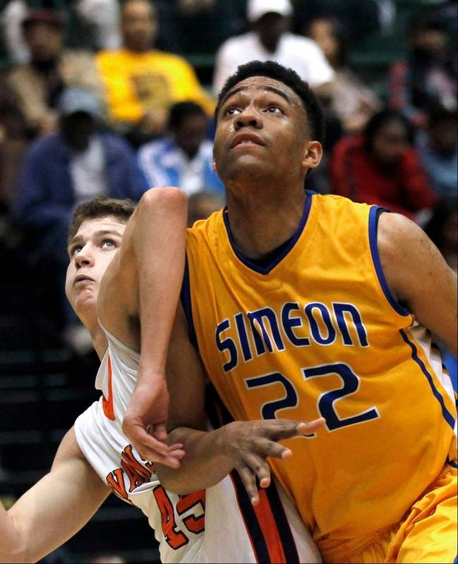 Simeon's Parker puts DePaul on his Top 10 list Jabari Parker Simeon
