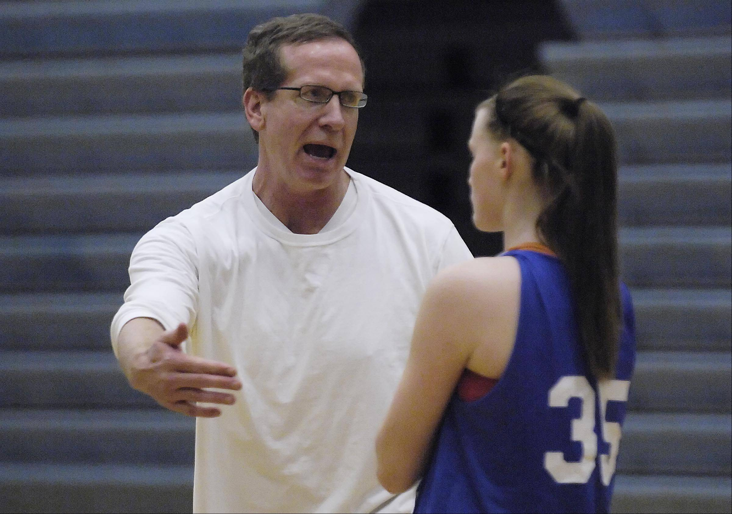 New Burlington Central girls basketball head coach Mark Smith takes over a program that hasn't won a regional title since 1990.
