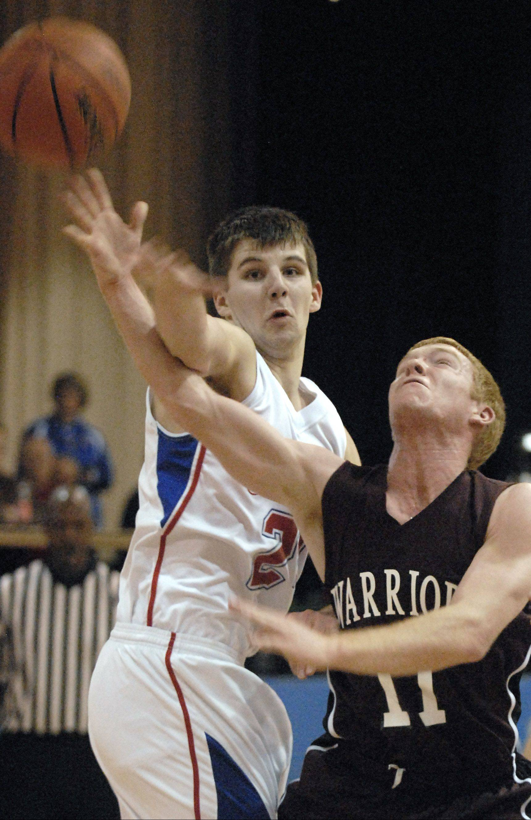 At 6-feet-5, Colin Kavanaugh gives Marmion a strong inside game.