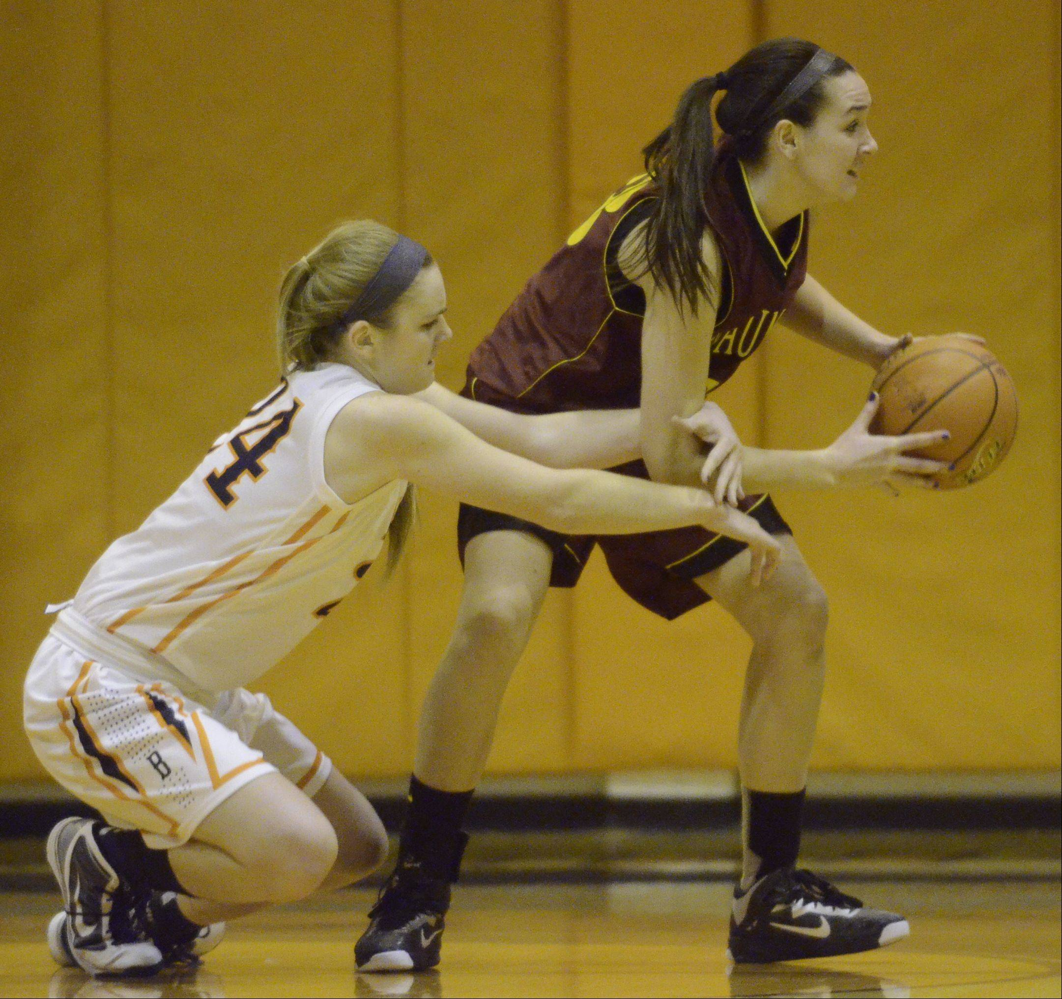 Images from the Buffalo Grove vs. Schaumburg girls basketball game Tuesday, November 27th, in Buffalo Grove.