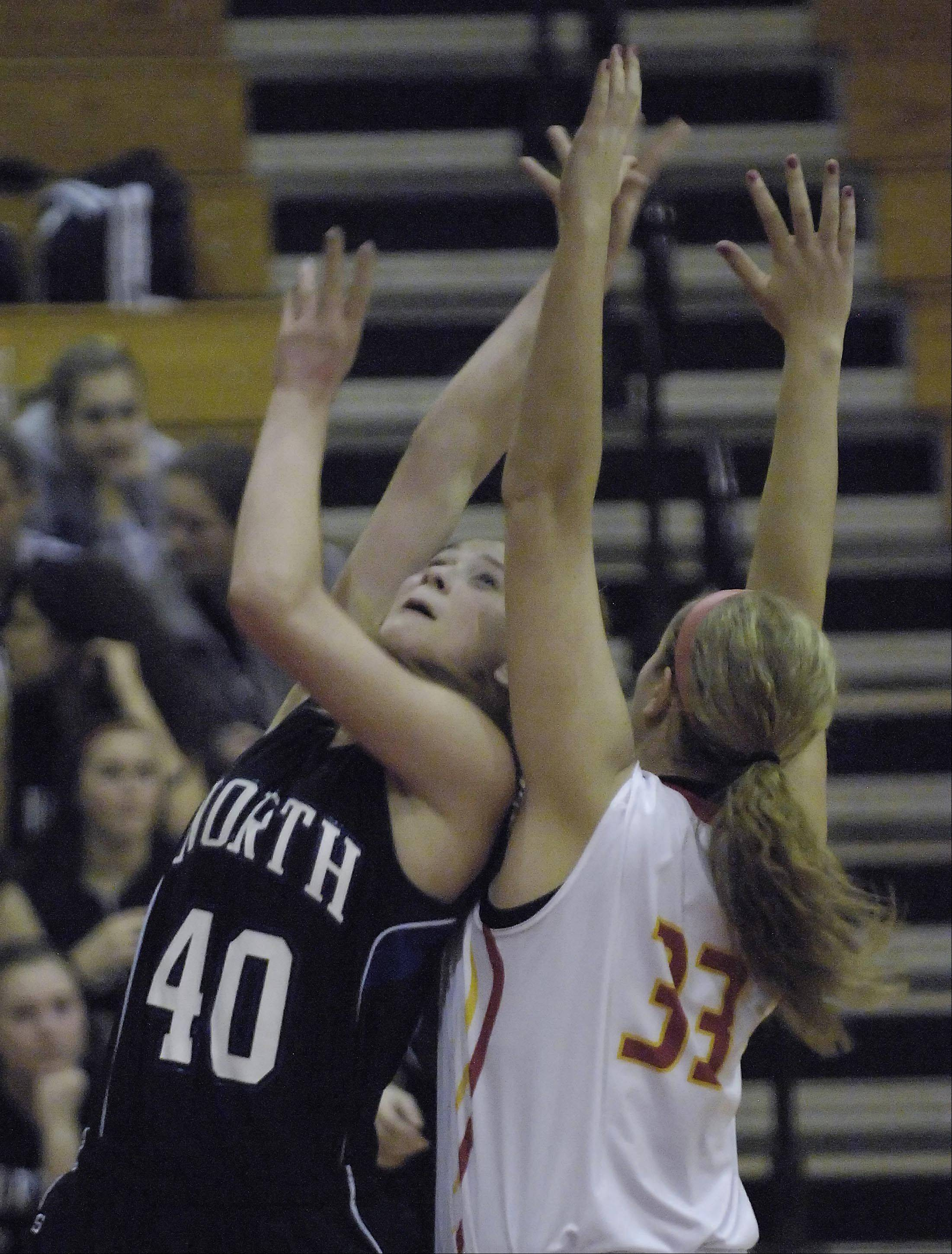 Images from the St. Charles North vs. Batavia girls basketball game Tuesday, November 27, 2012.