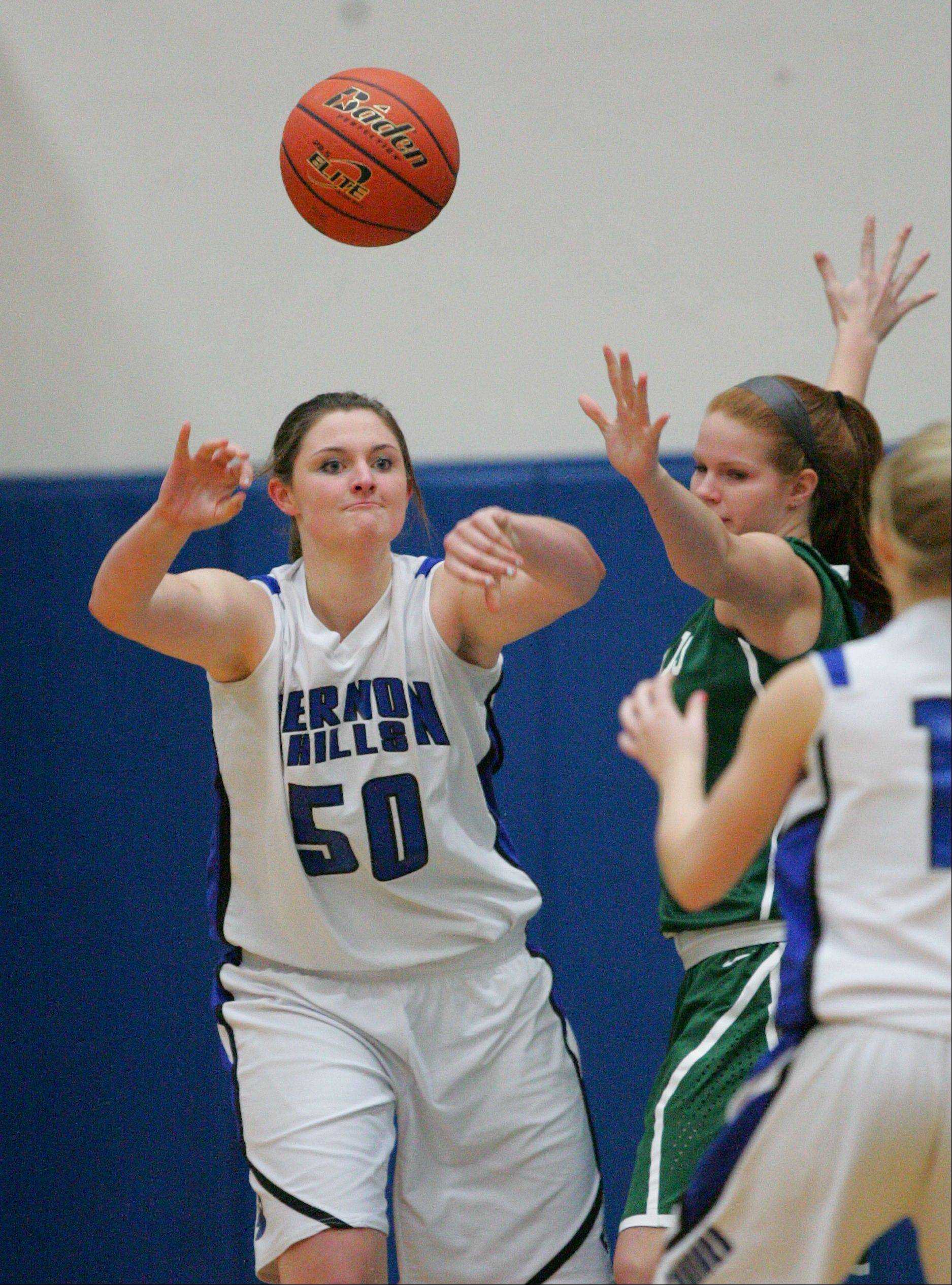 Images from the Grayslake Central at Vernon Hills girls basketball game Tuesday, Nov. 27.