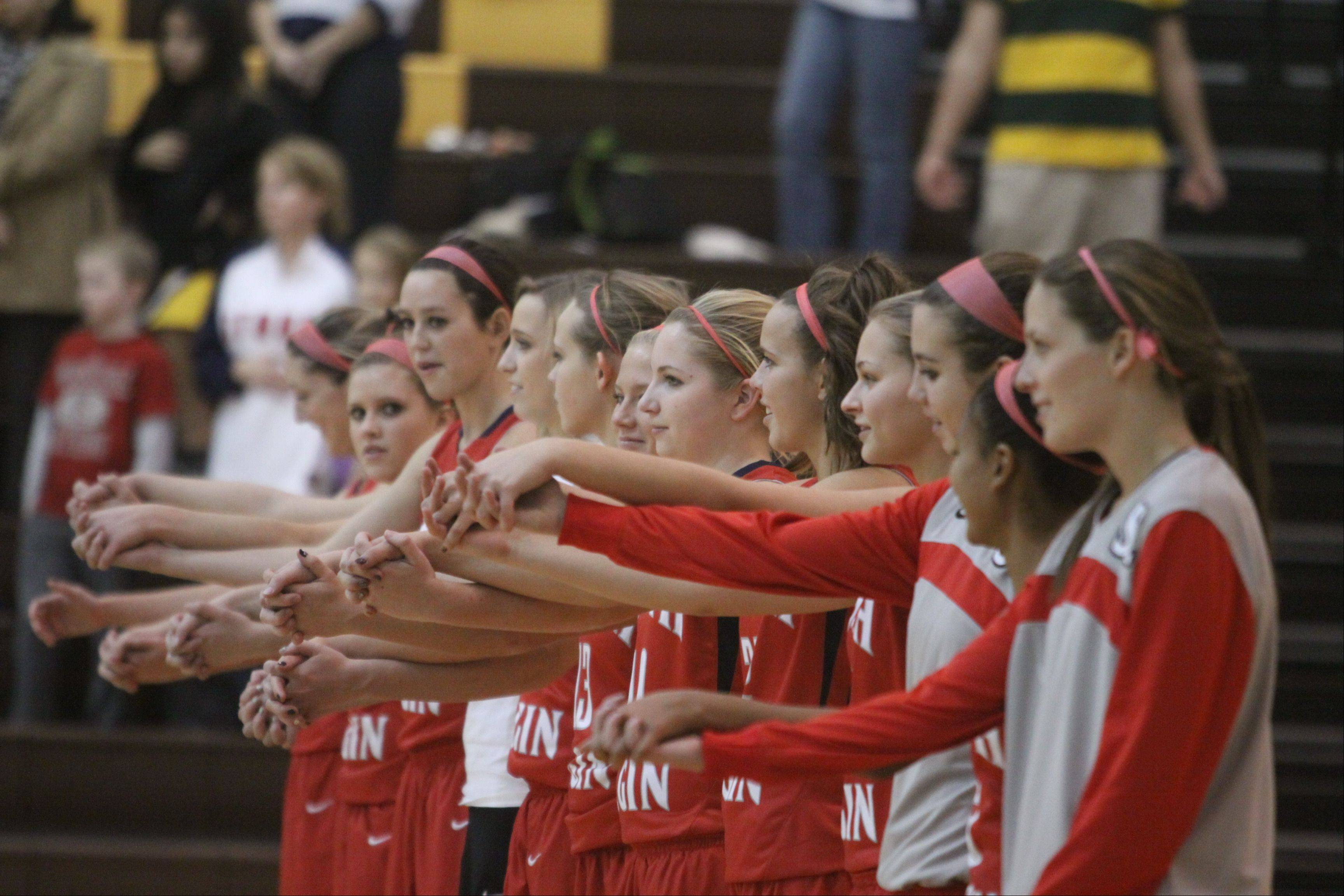 Images from the South Elgin vs. Jacobs girls basketball game Tuesday, November 27, 2012.