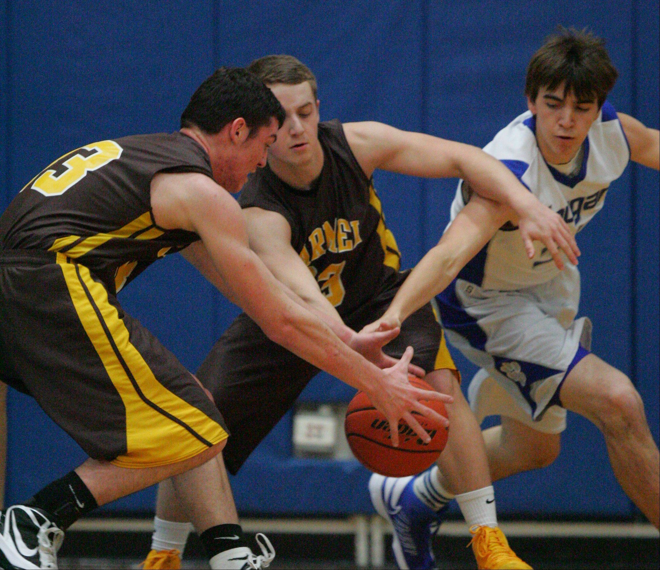 Images: Carmel vs. Vernon Hills boys basketball
