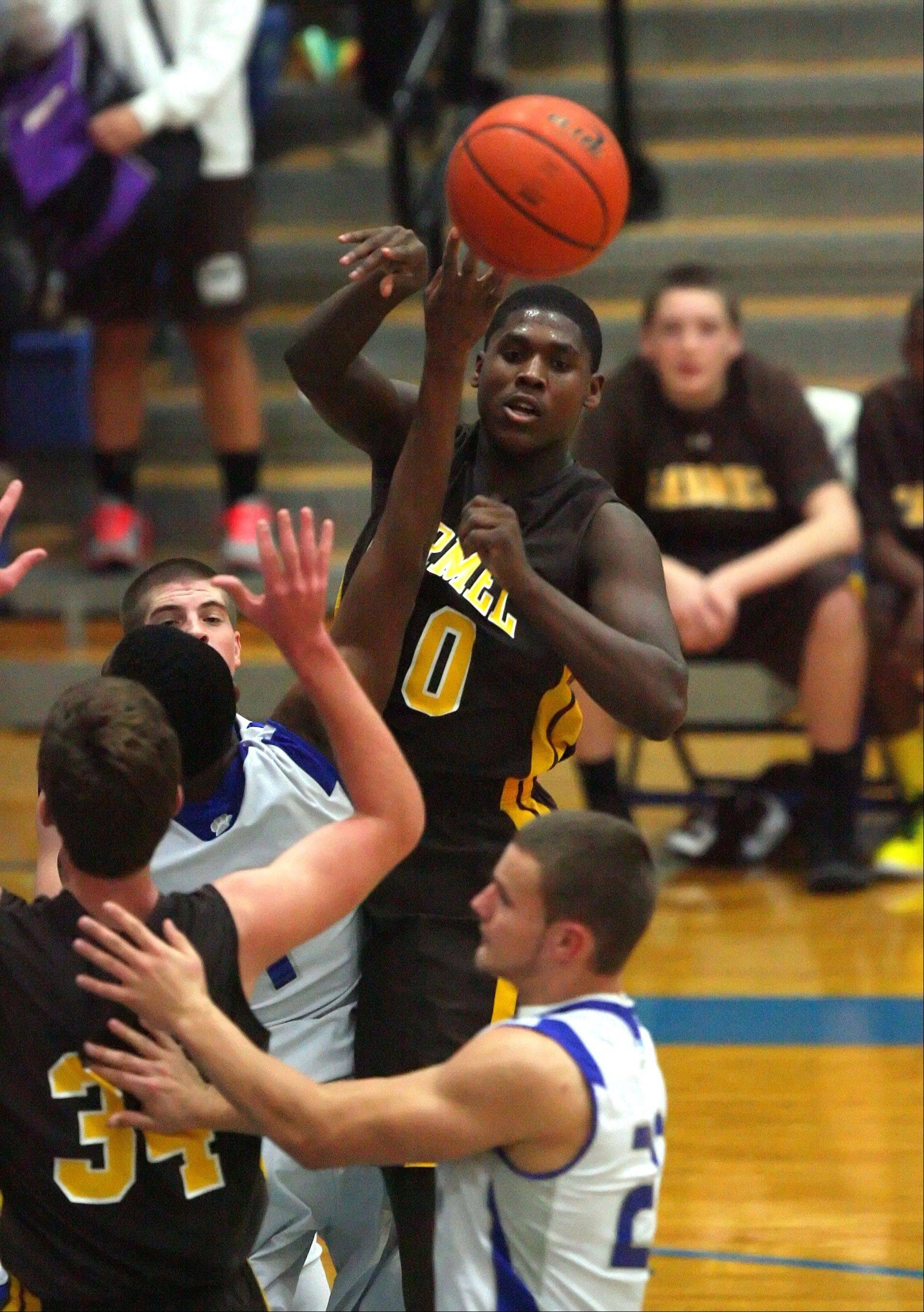 Images from the Carmel at Vernon Hills boys basketball game Wednesday, Nov. 28.