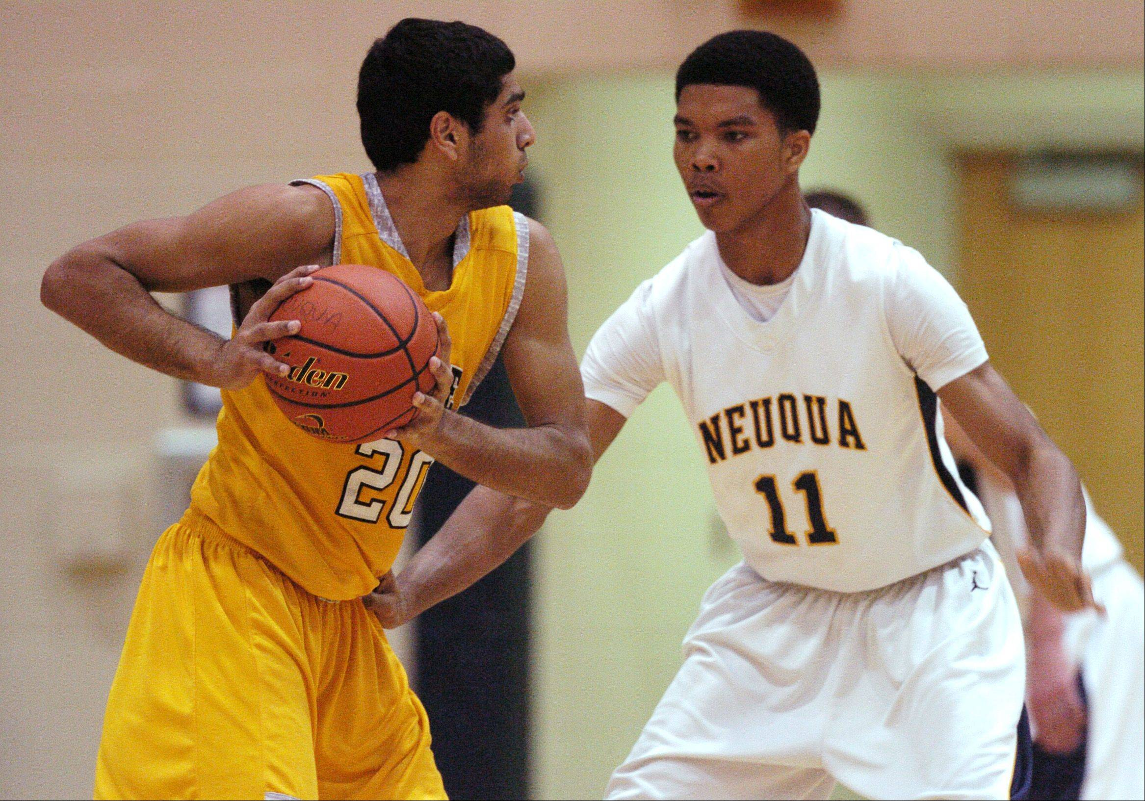 Neuqua Valley squeaks past Metea Valley