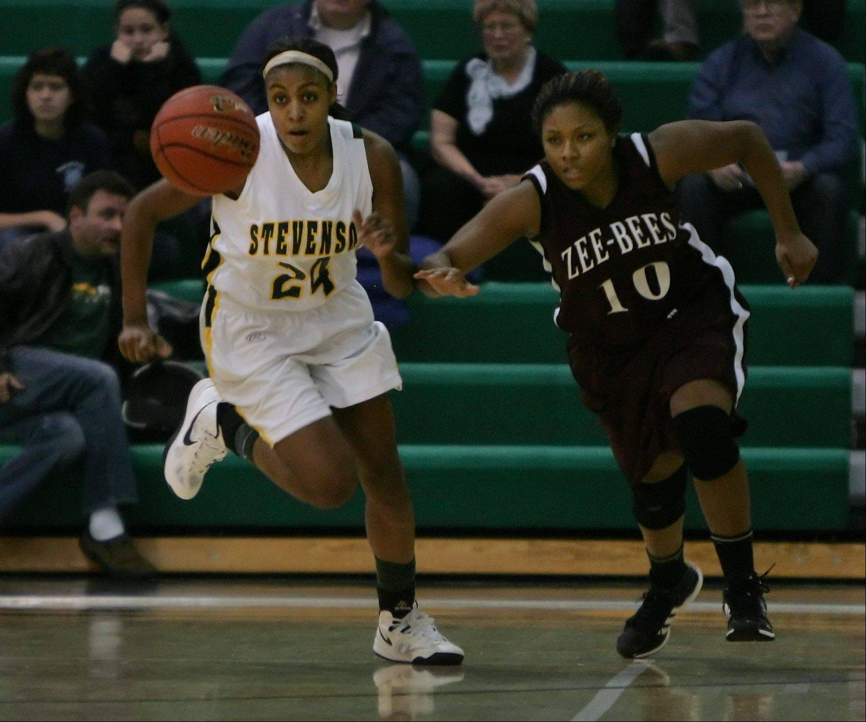 Images: Zion-Benton vs. Stevenson girls basketball