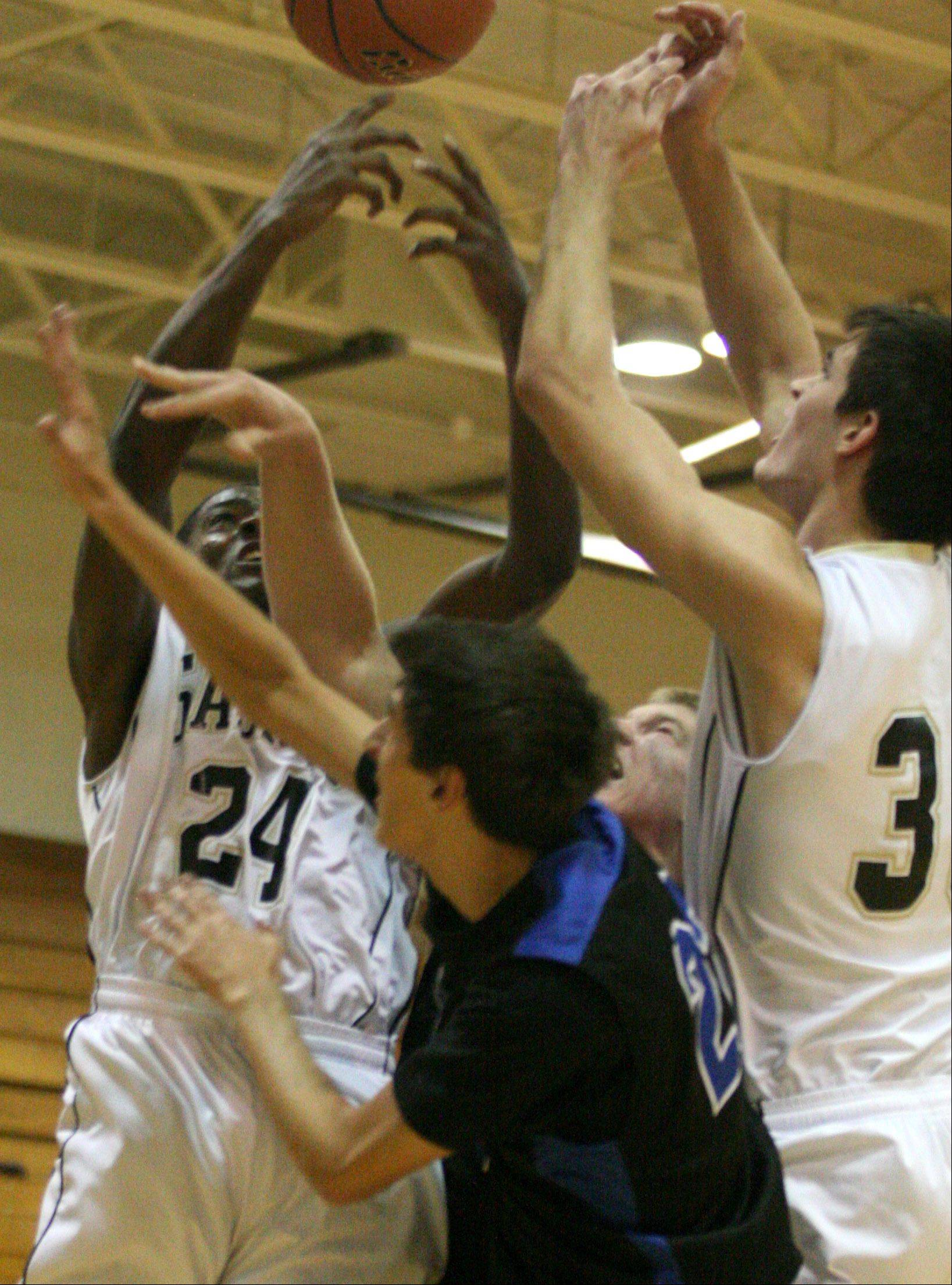 Images from the St. Charles North vs. Streamwood boys basketball game Thursday, November 29, 2012.