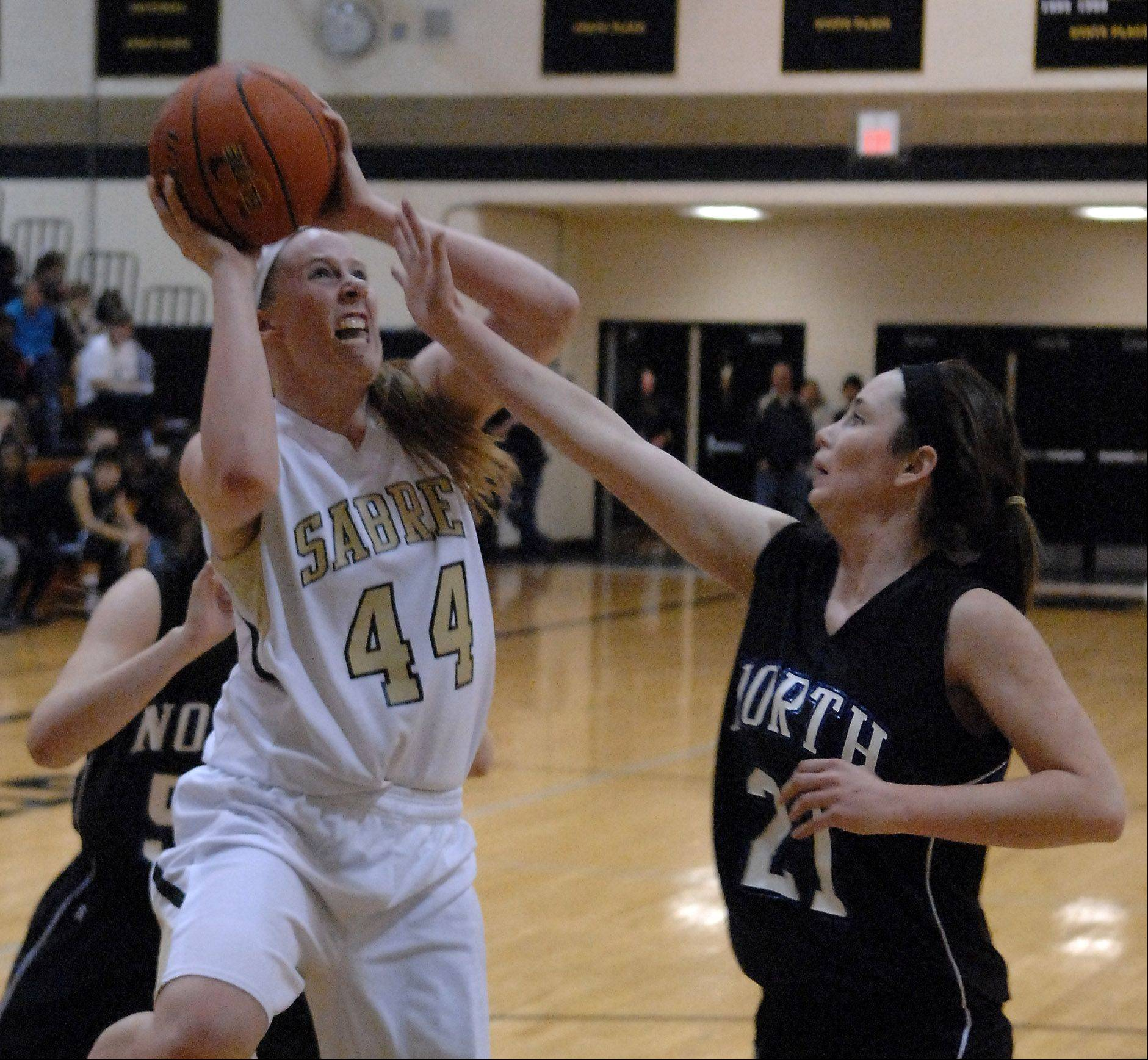 Images: St. Charles North vs. Streamwood girls basketball
