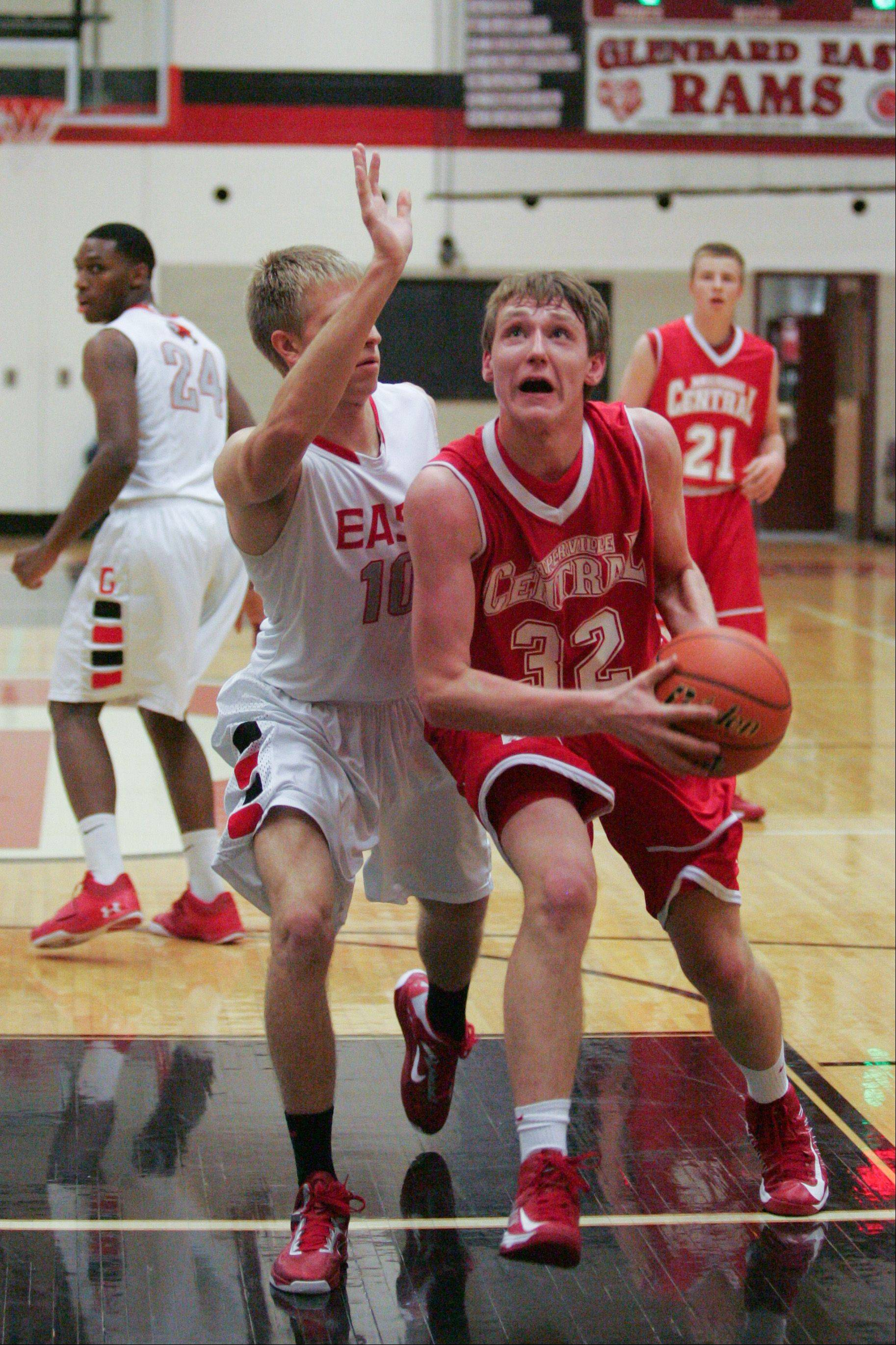 Images from the Naperville Central vs. Glenbard East basketball game in Lombard on Friday, November 29, 2012.