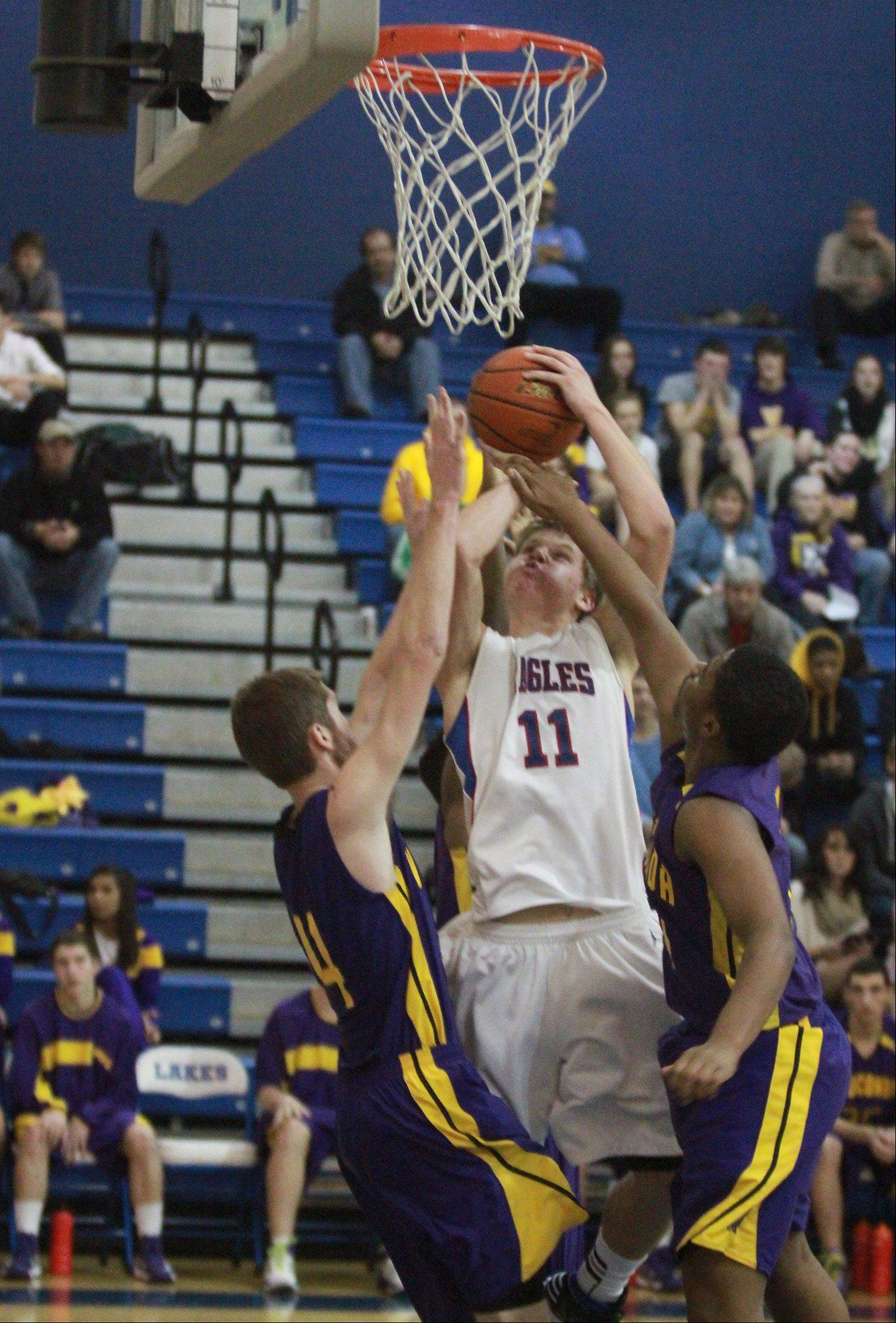 Images from the Wauconda at Lakes boys basketball game on Friday, Nov. 30 in Lake Villa.