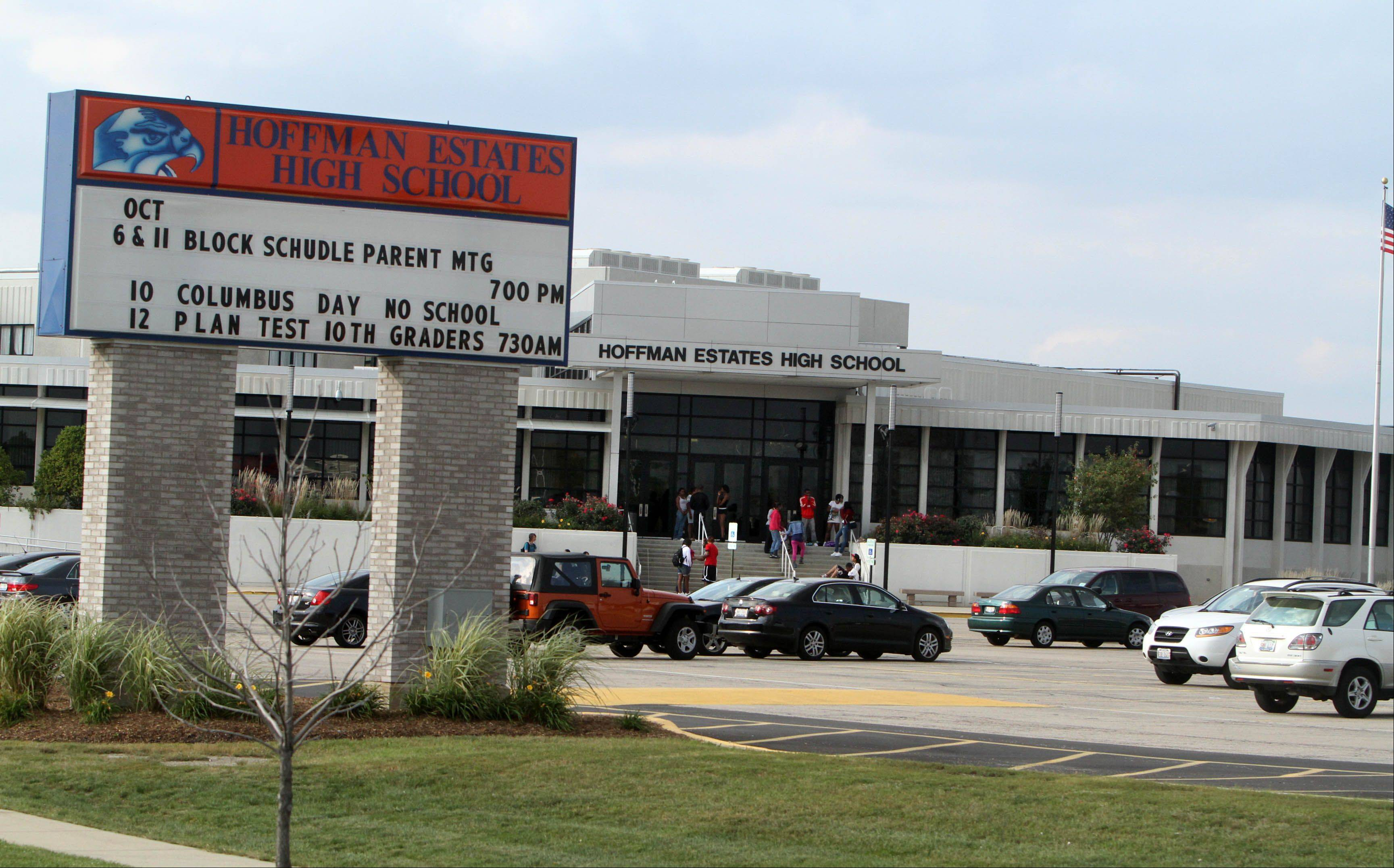 The 14 players on the Hoffman Estates High School basketball team were investigated, and the players and parents met with the District 211 superintendent and Hoffman High principal over hazing allegations that the district learned about Friday, the district says.