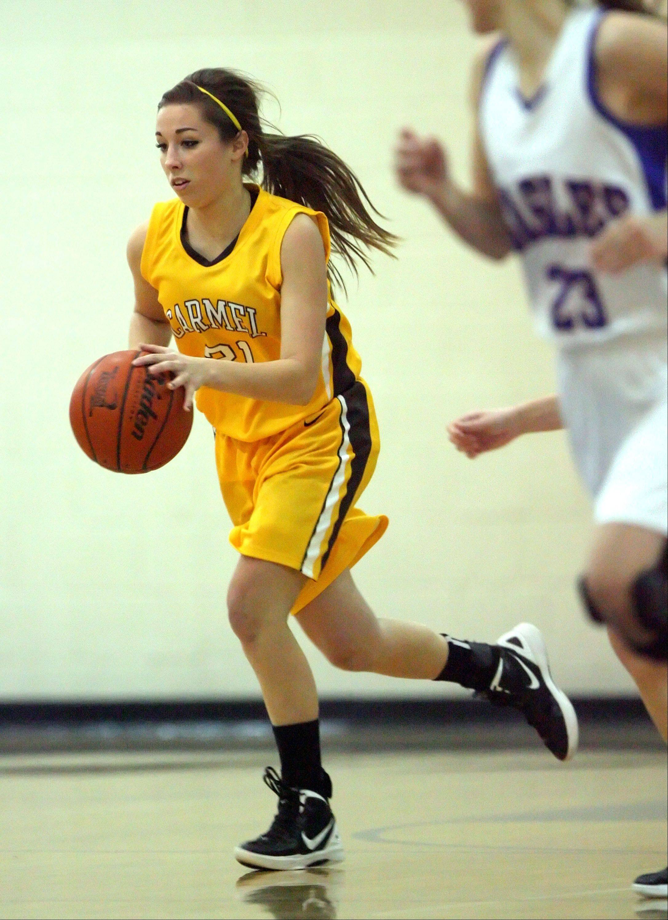 Images from the Carmel at Lakes girls basketball game on Monday, Dec. 3.