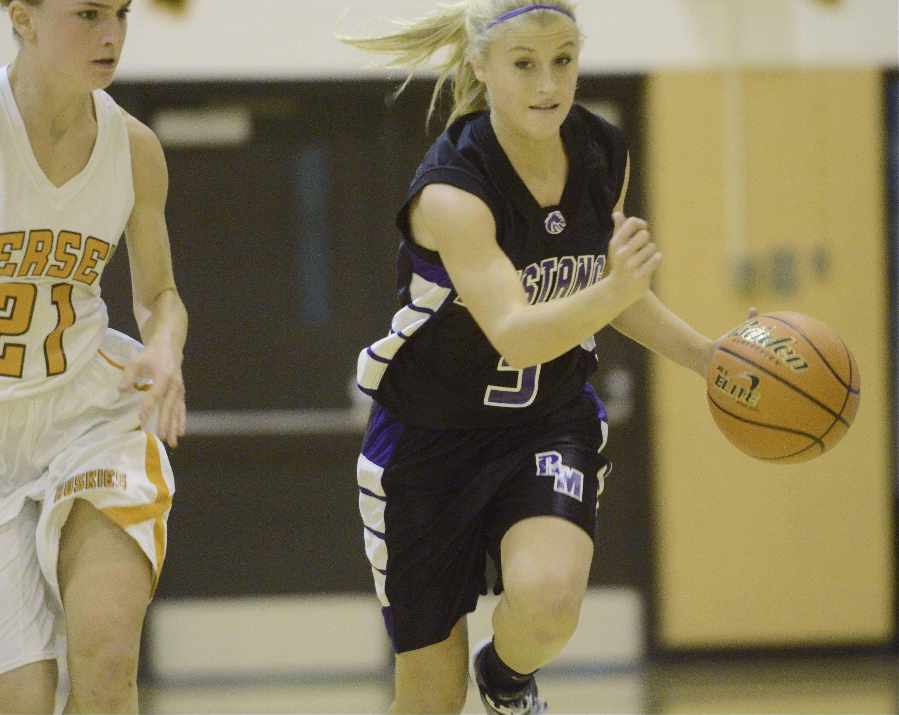 Images: Hersey vs. Rolling Meadows, girls basketball