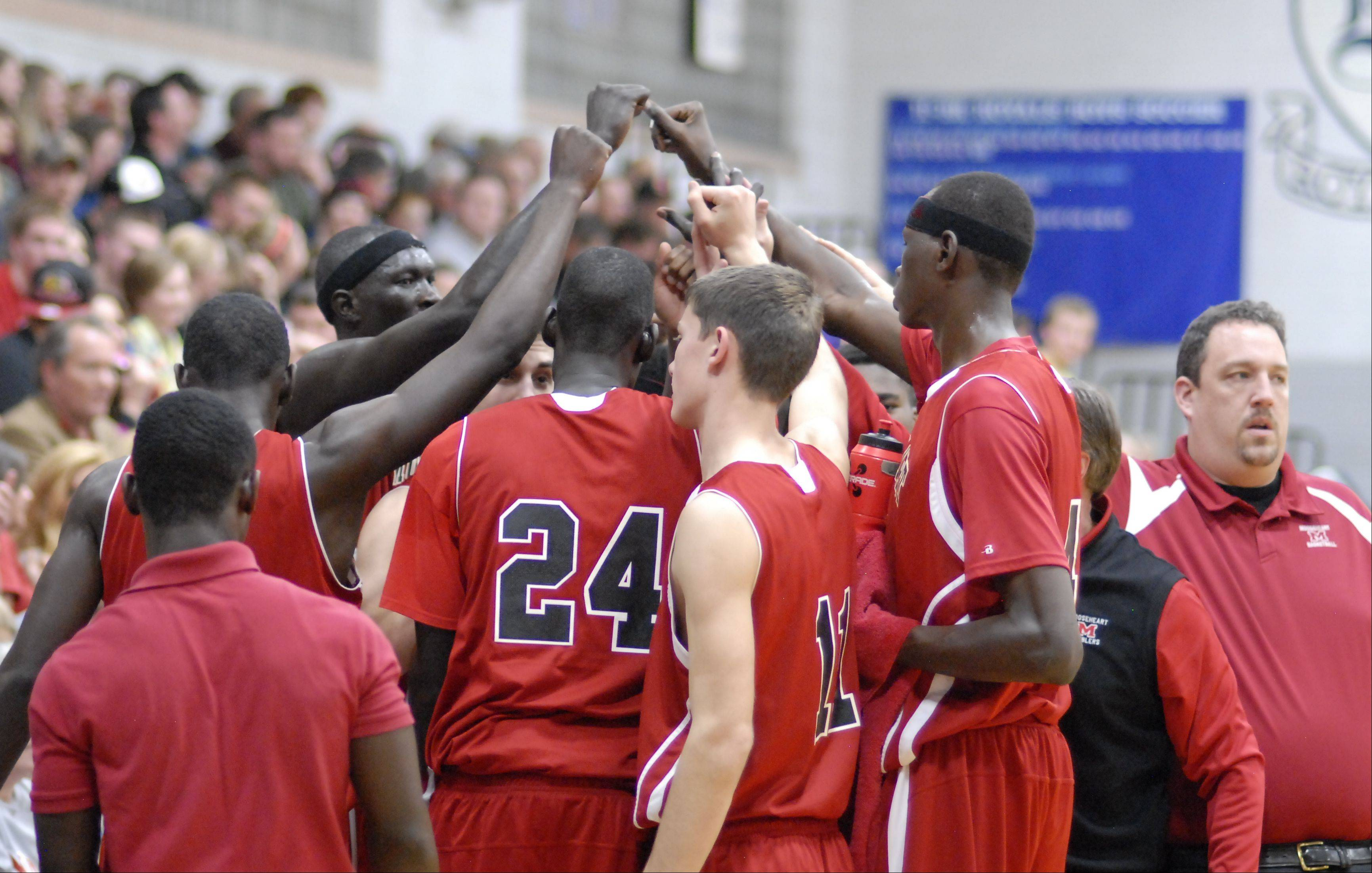 Images from the Mooseheart vs. Hinckley-Big Rock boys basketball game Wednesday, December 5, 2012.