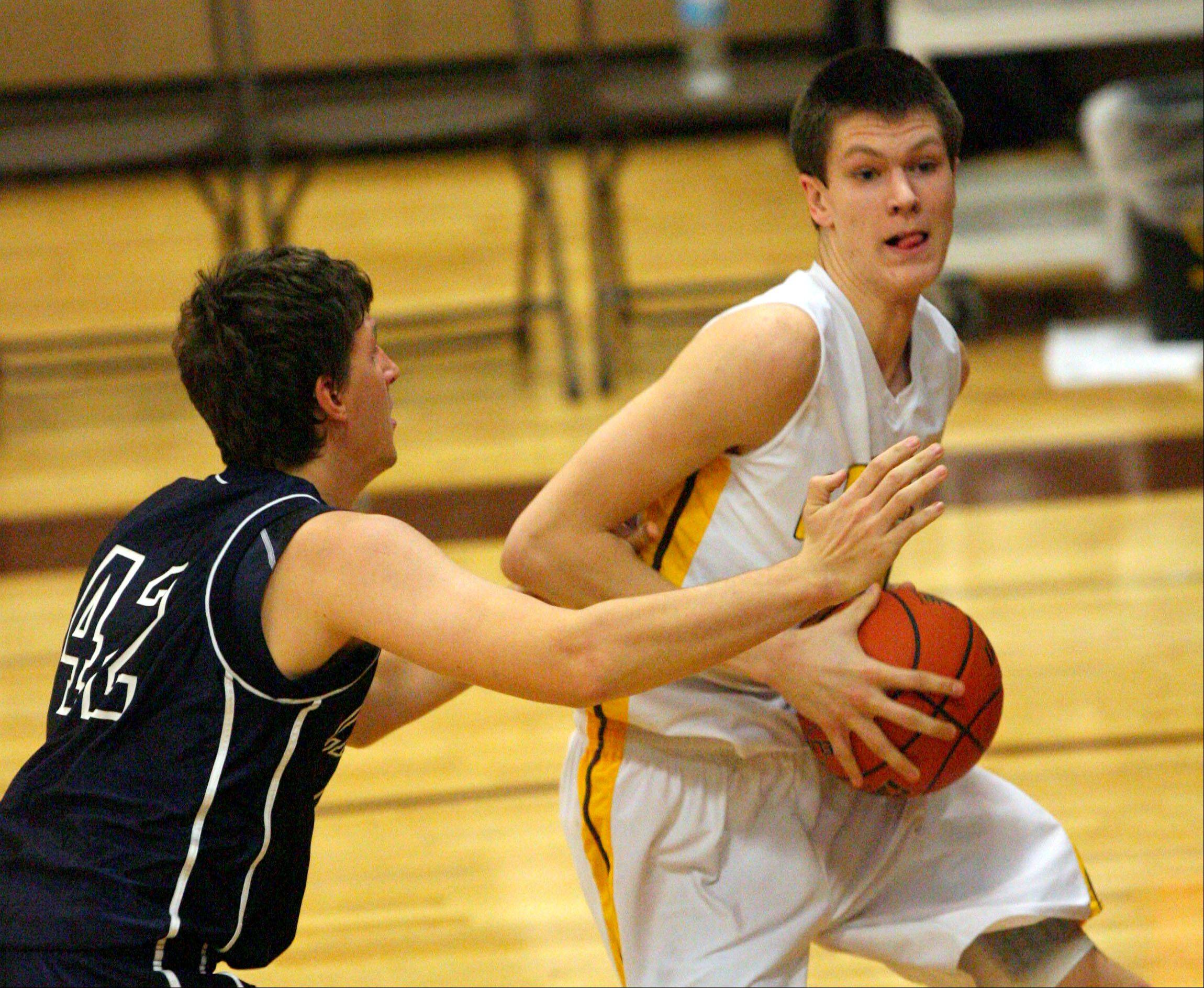 Images from the Cary-Grove at Carmel boys basketball game Wednesday, Dec. 5 in Mundelein..