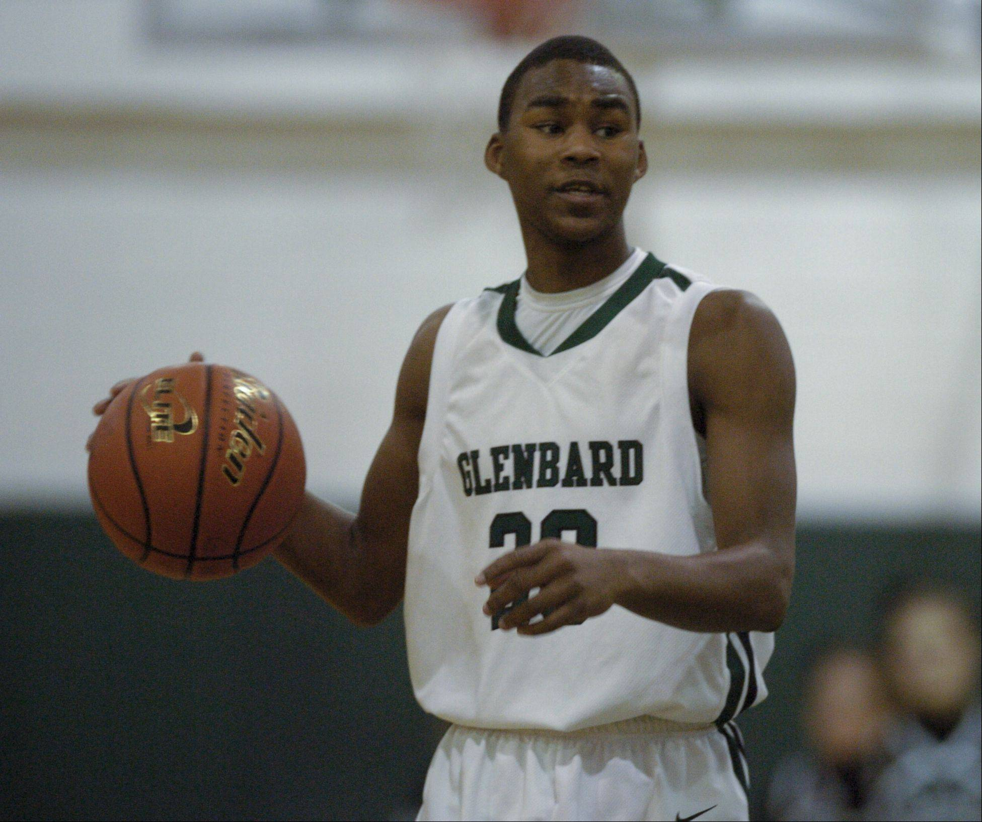 Glenbard West High School hosted Hinsdale South High School Wednesday night for boys basketball.